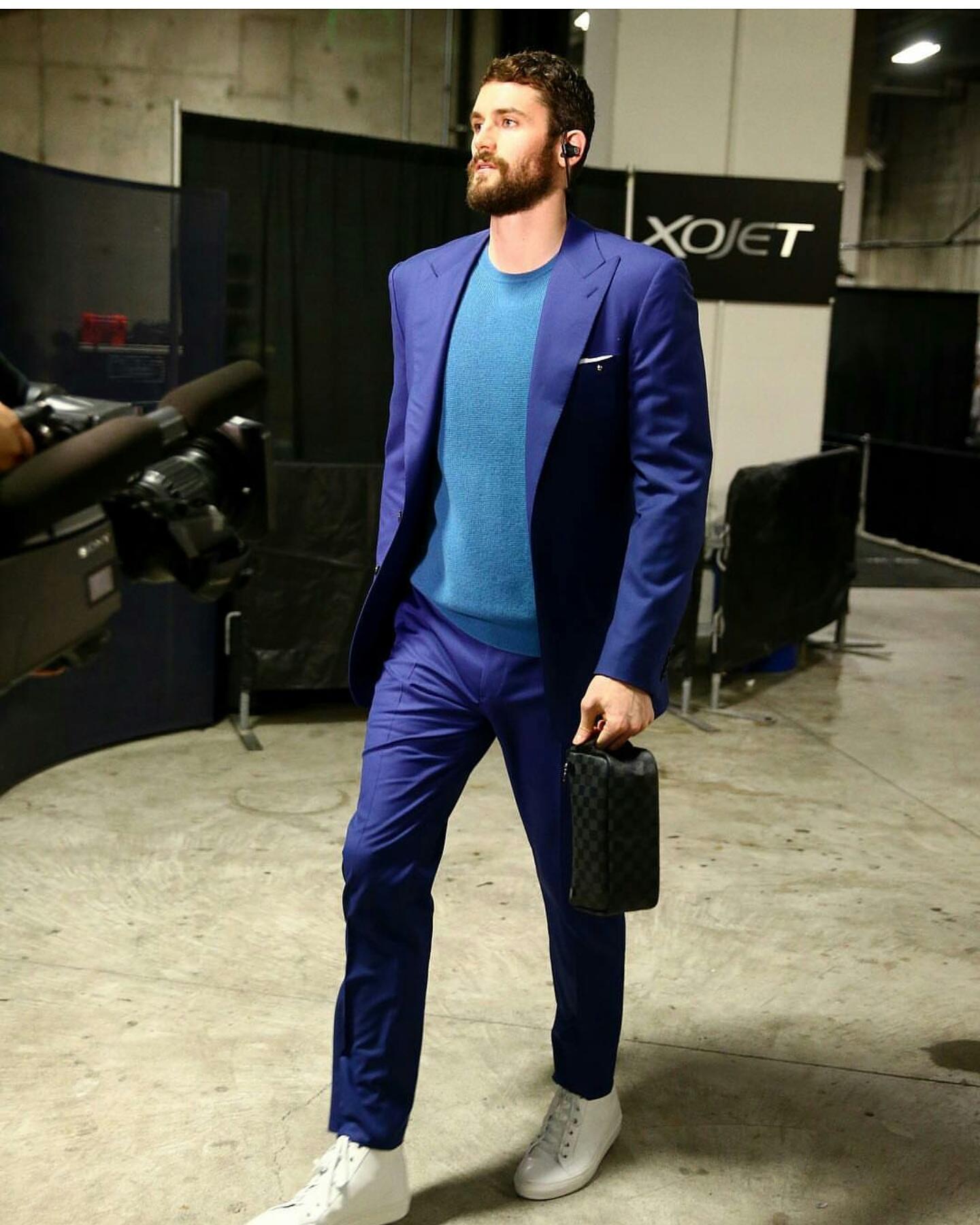 Style Nba Kevin Love 39 S Instagram 2016 Nba Finals Ralph Lauren Suit
