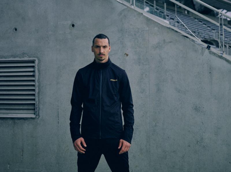 finest selection df9ce fc5e3 Soccer Star Zlatan Ibrahimovic Debuts His