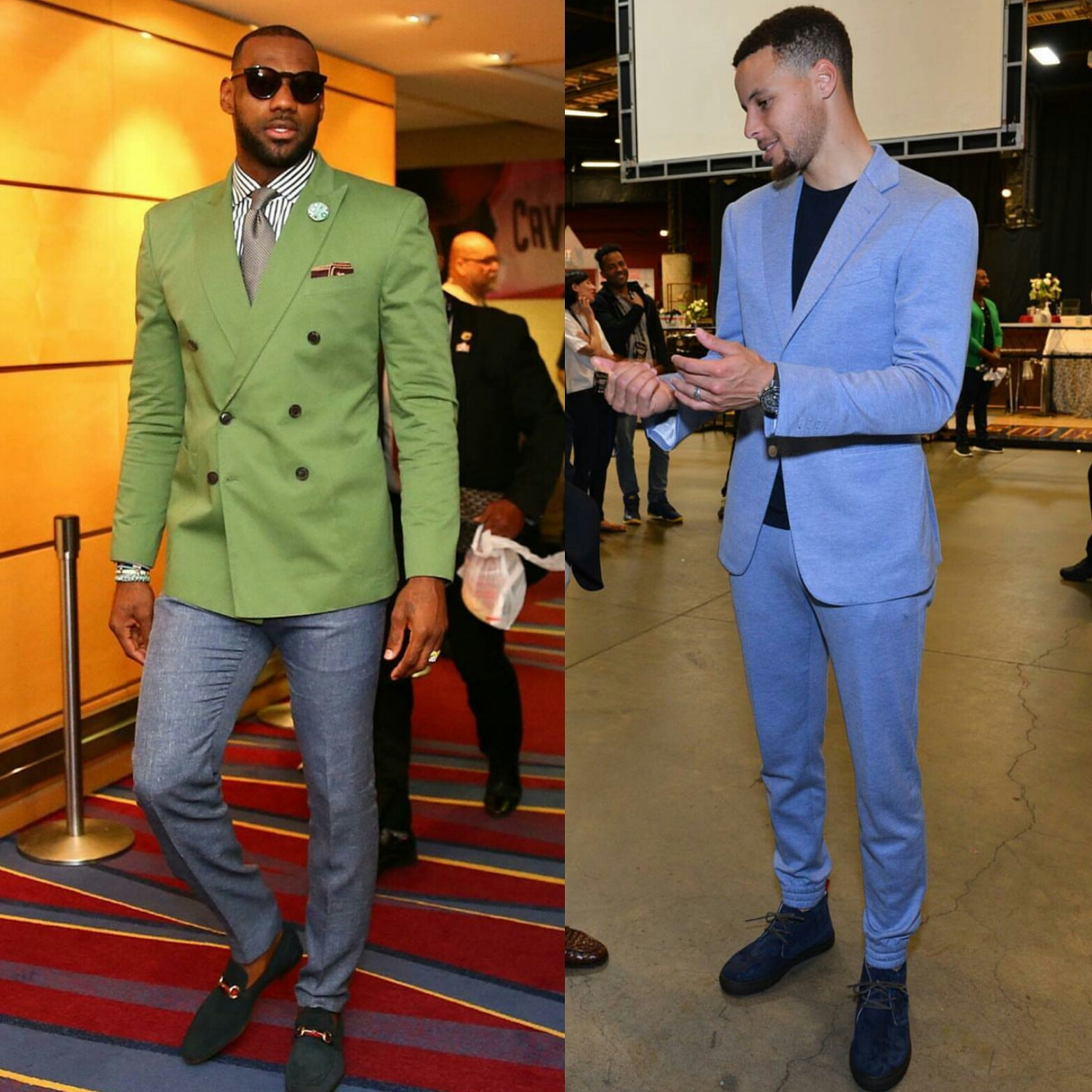 STYLE: Lebron James And Stephen Curry Just Inspired Our Summer Wardrobes