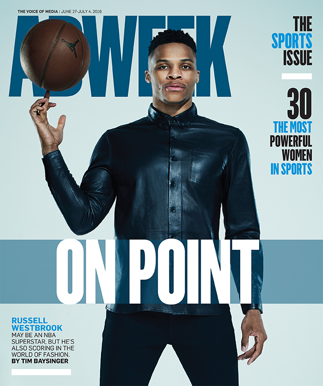 NBA Star Russell Westbrook Covers ADWEEK Magazine, Talks Success In Fashion And More