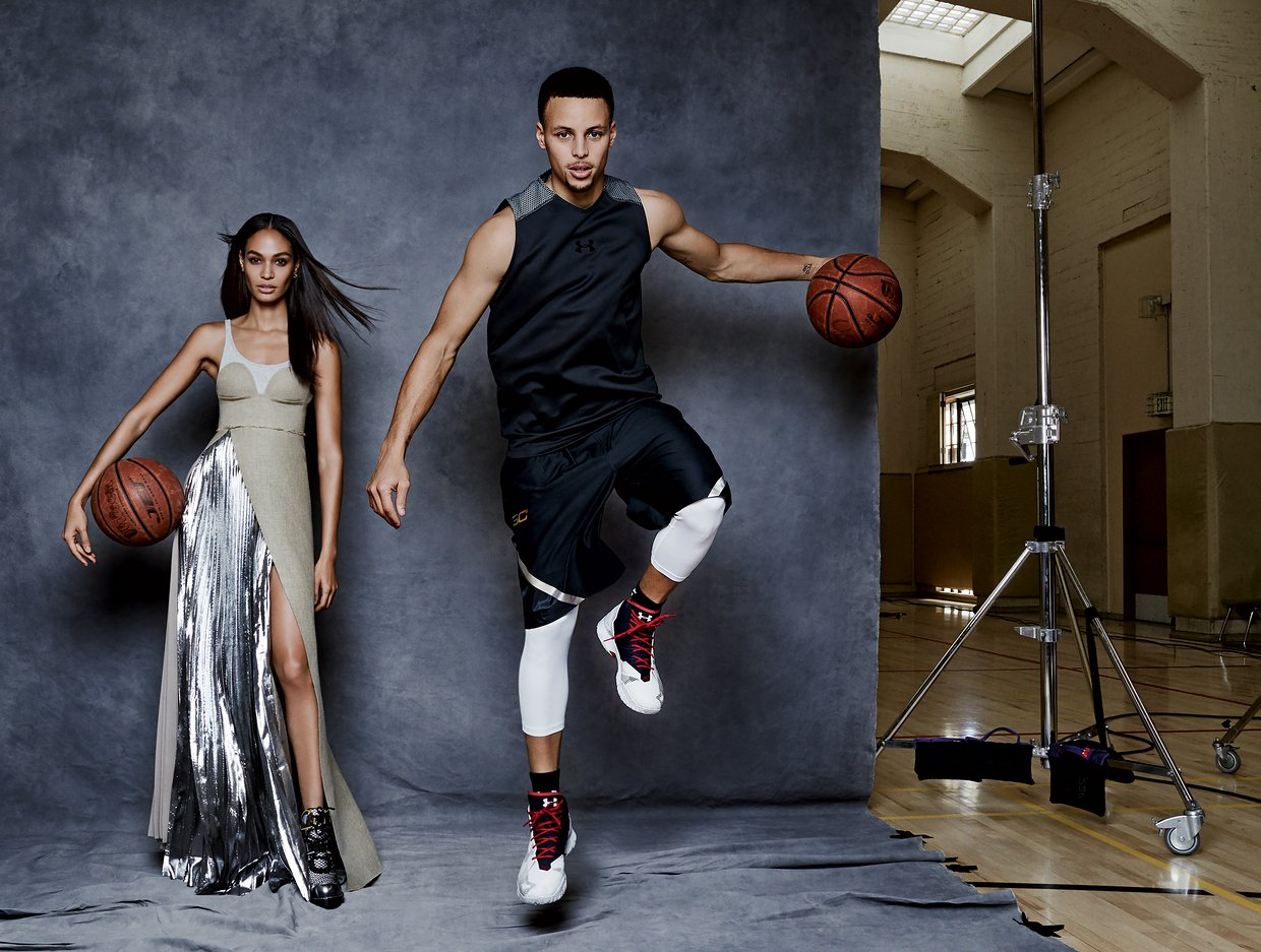 Stephen Curry and Other USA Athletes Meet Their High-Fashion Match In New Vogue Magazine Feature