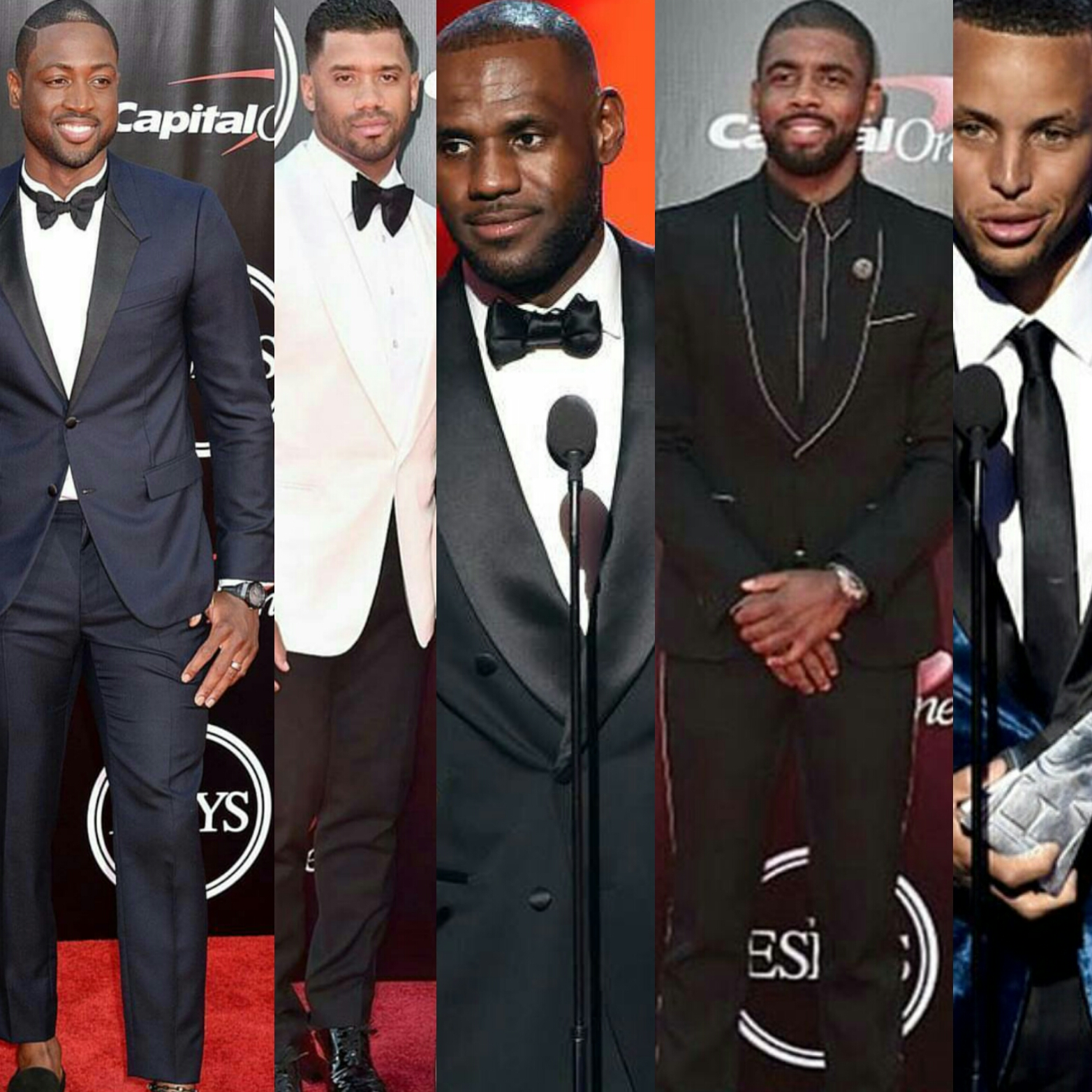 STYLE: 2016 ESPYS BEST-DRESSED ATHLETES