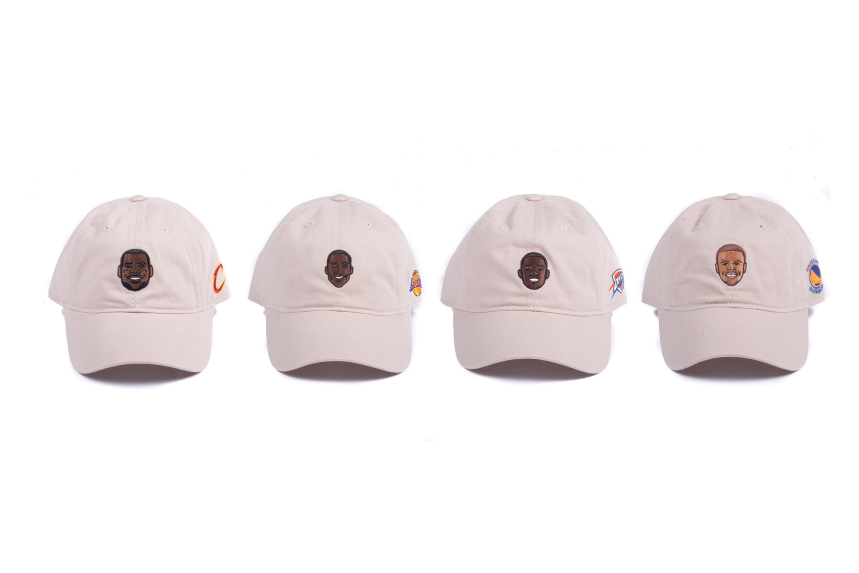 Adidas Designs Dad Hats Of LeBron James, Kobe Bryant, KD & Steph Curry
