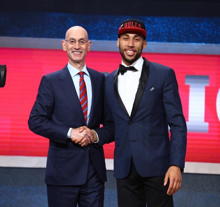 STYLE: Denzel Valentine Wears Macy's Bar III For 2016 NBA Draft