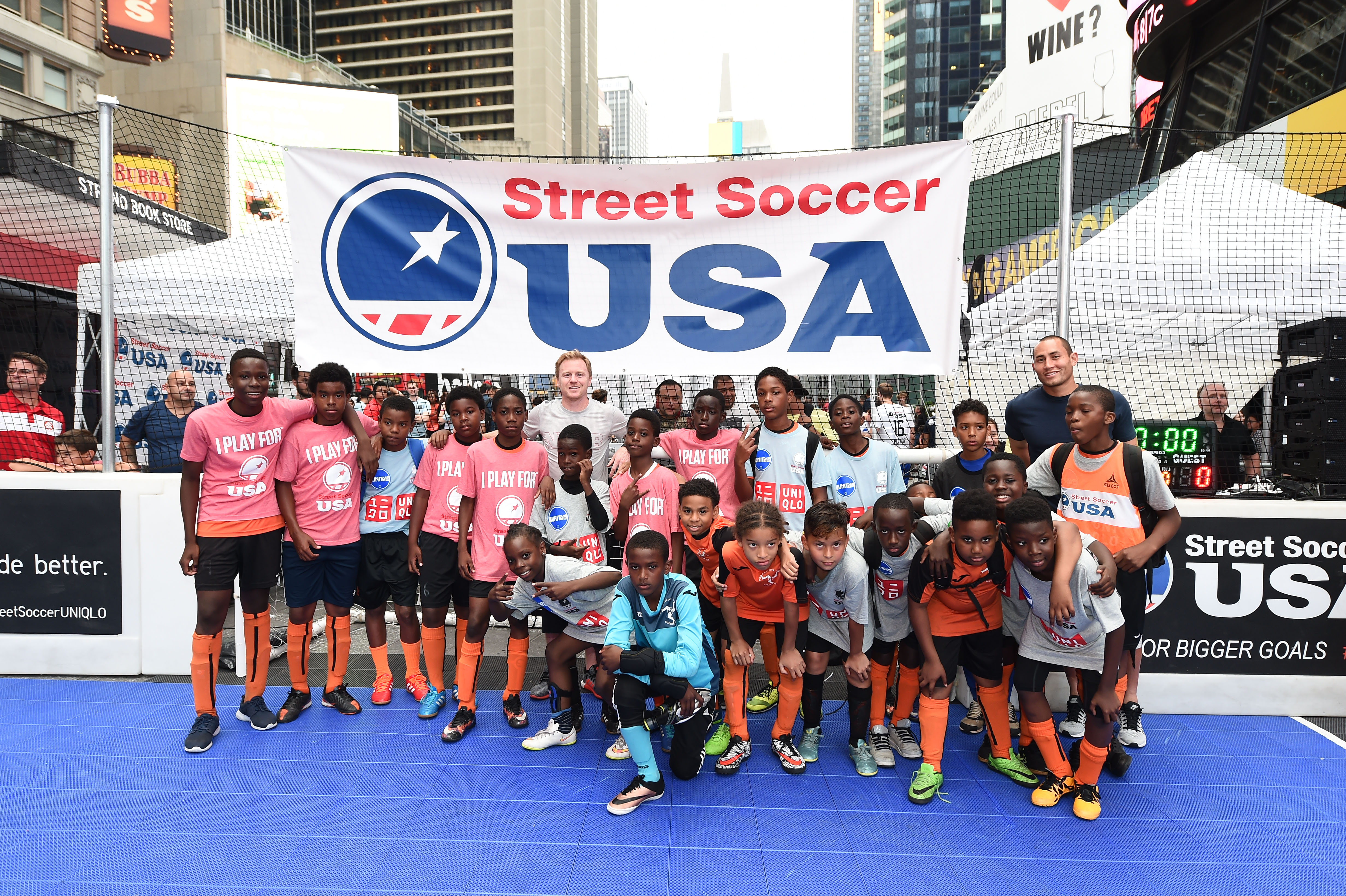 EVENT: Street Soccer USA 4th Annual NYC Times Square Soccer Tournament