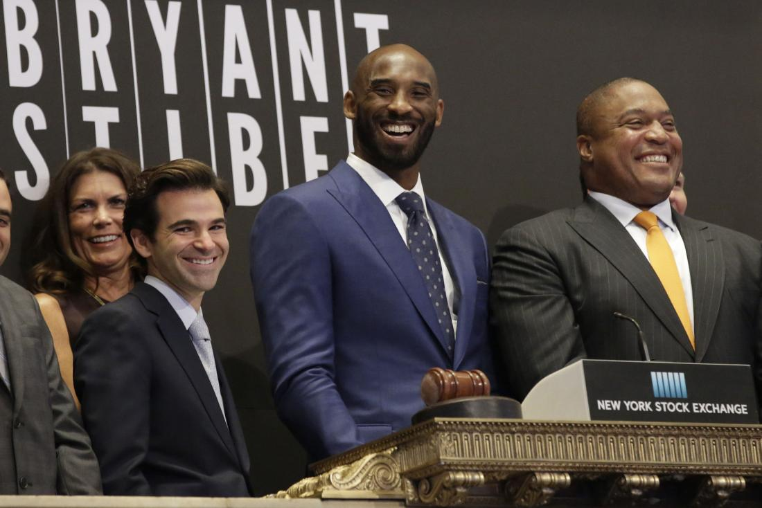 STYLE: Kobe Bryant Unveils Bryant Stibel Venture Capital Fund On NYSE Wearing Custom David August Suit