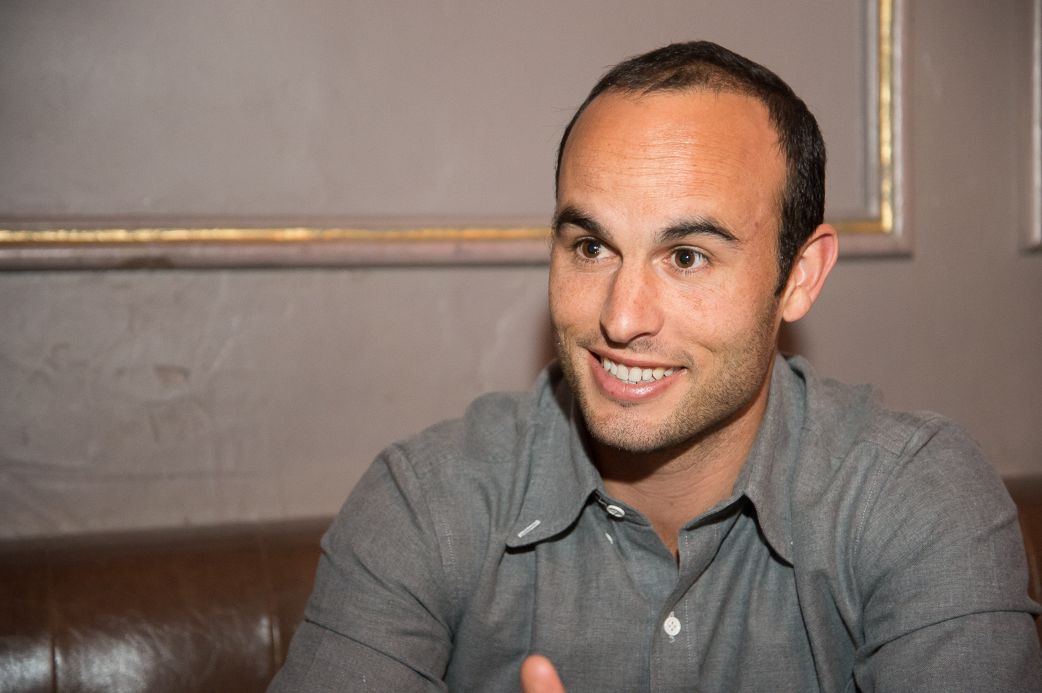 U.S. Soccer Star Landon Donovan & Captain Morgan Want To Make It Possible For Anyone Under 35 To Run For President