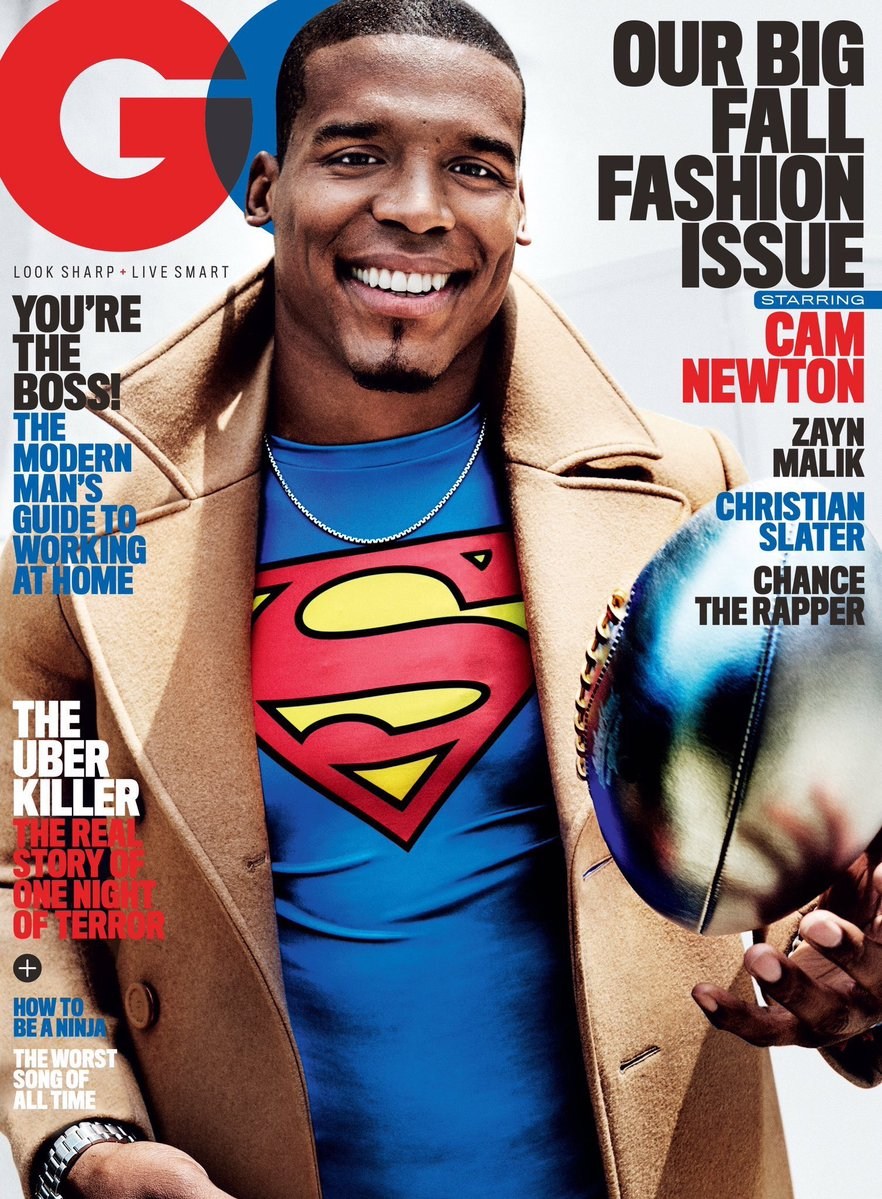 STYLE: NFL Star Cam Newton Covers GQ Magazine, Talks Race In America, Fashion, And More