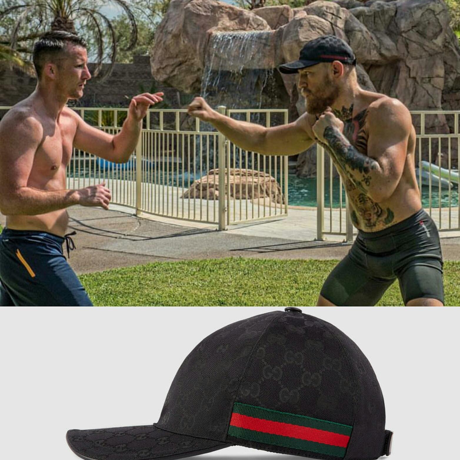 STYLE: Conor McGregor's Instagram Gucci Baseball Cap