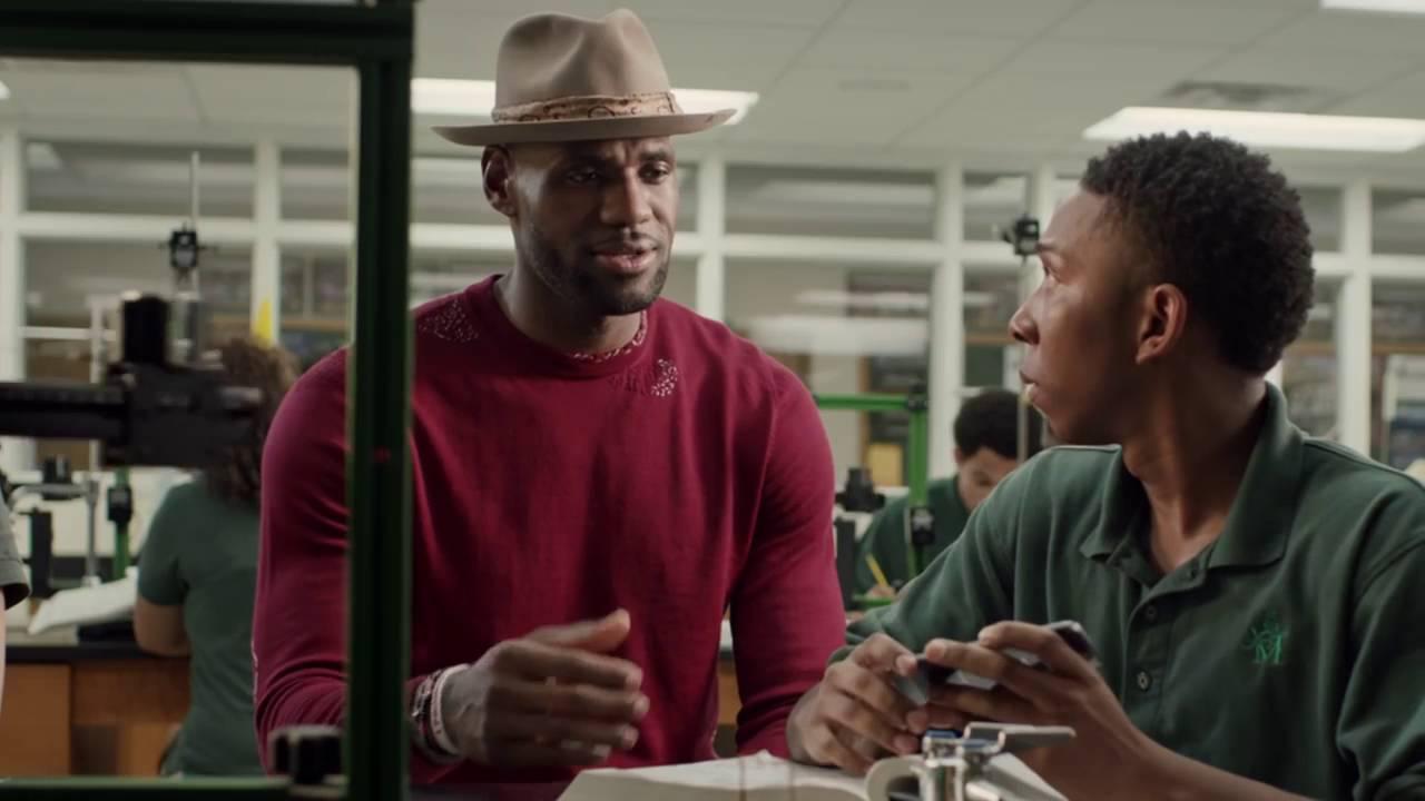 STYLE: Lebron James' Verizon Commercial 2016 Nick Fouquet Hat