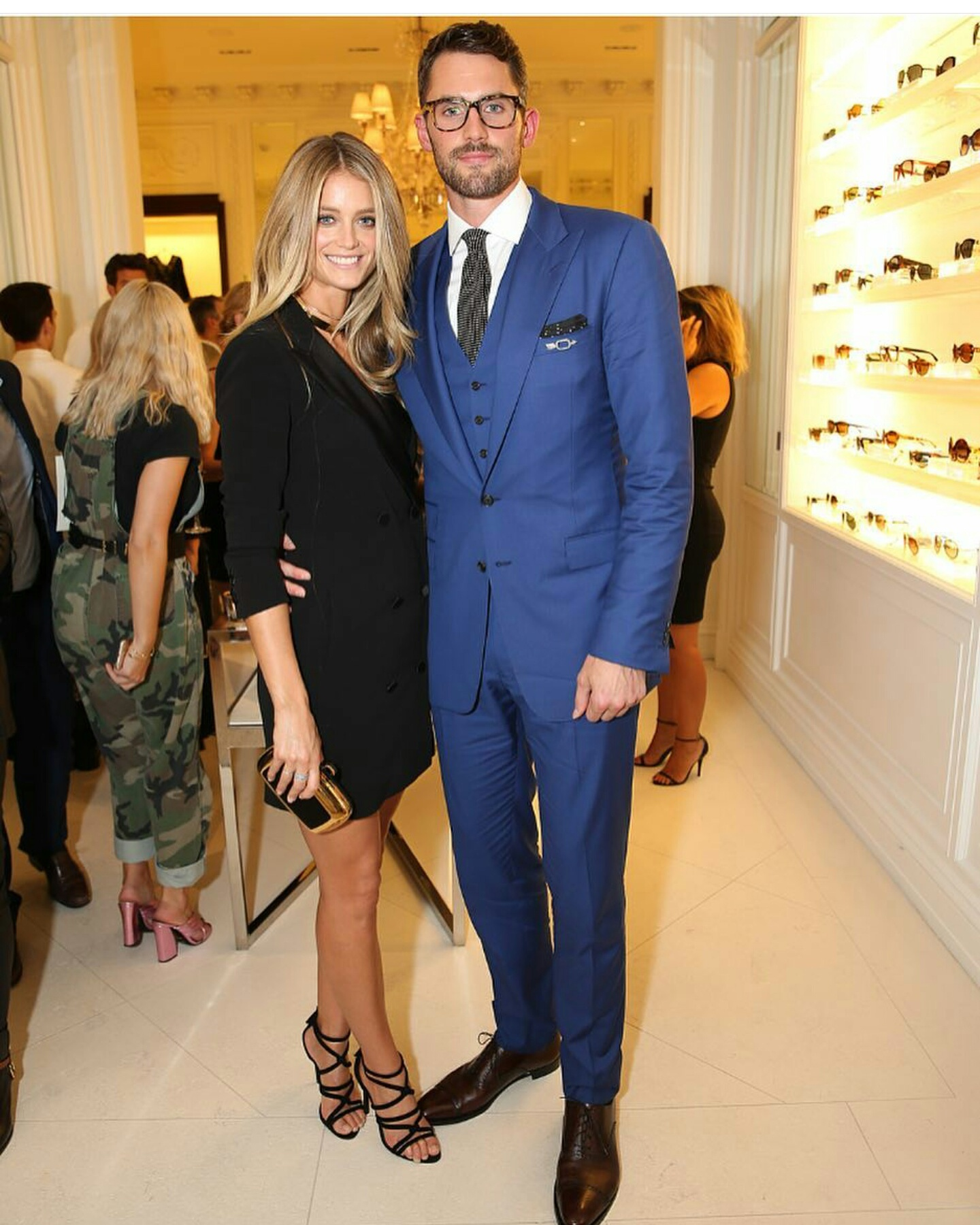 STYLE: NBA Kevin Love Attends Ralph Lauren New York Fashion Week Runway Show
