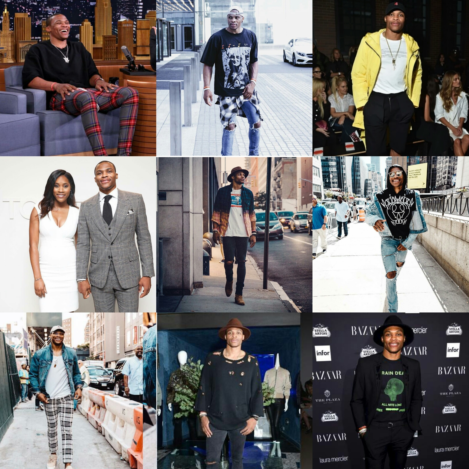 Russell Westbrook's New York Fashion Week Experience Looked Really Exciting!