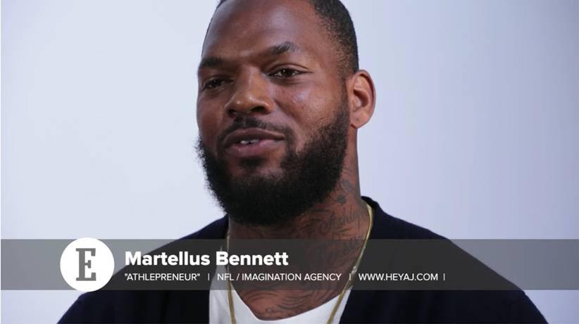 NFL Martellus Bennett Wants To Inspire People To Dream Bigger And Imagine More