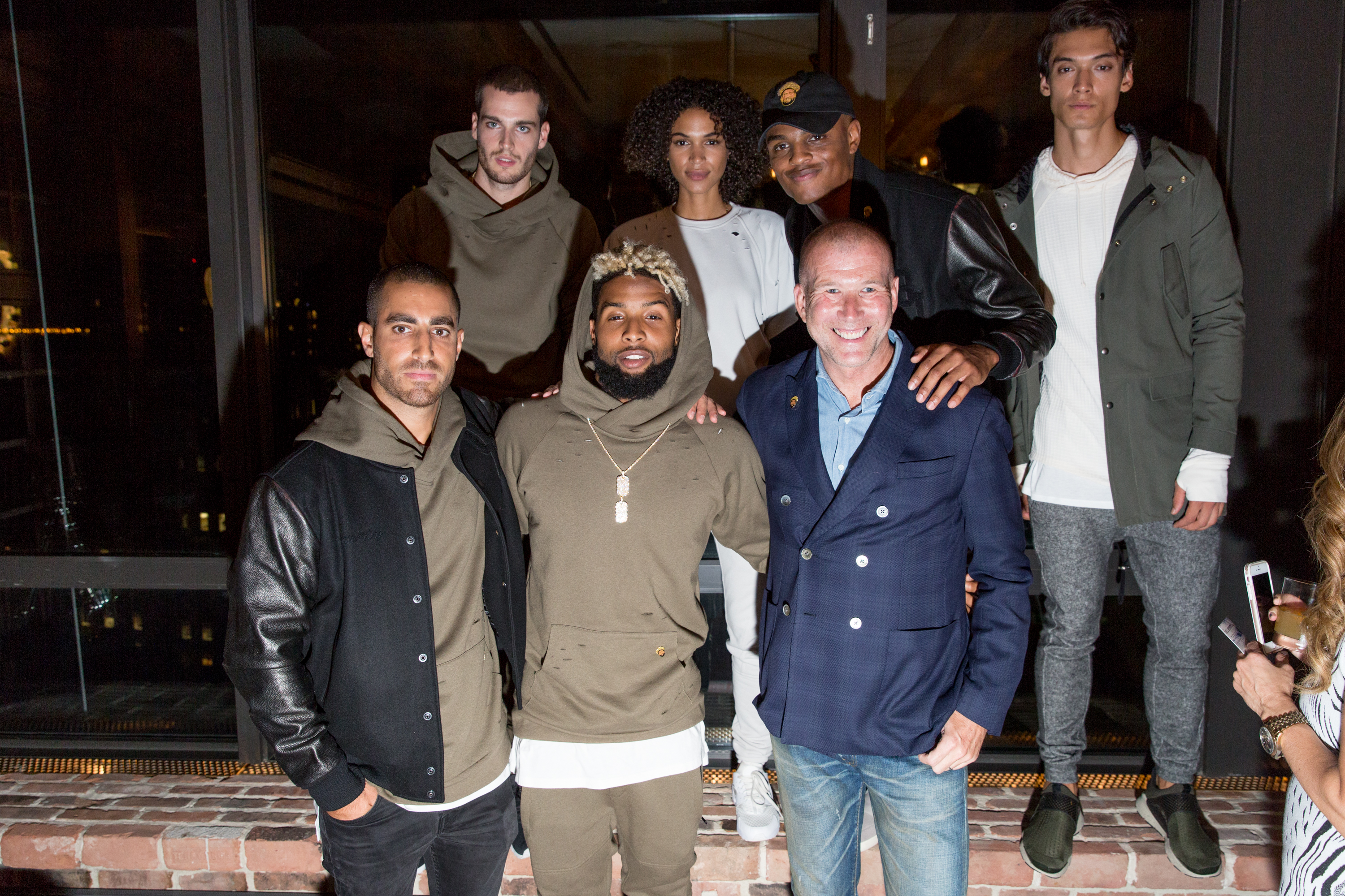 New York Giants Wide Reciever Odell Beckham Jr. and GQ host the launch of 13xTwenty, the Bloomingdales exlclusive collection of knitware created by Odell Beckham Jr. and Twenty Tees at The Gent in New York, NY on September 6th, 2016. Photo Credit: Alex Reside Social Credit: @alexreside