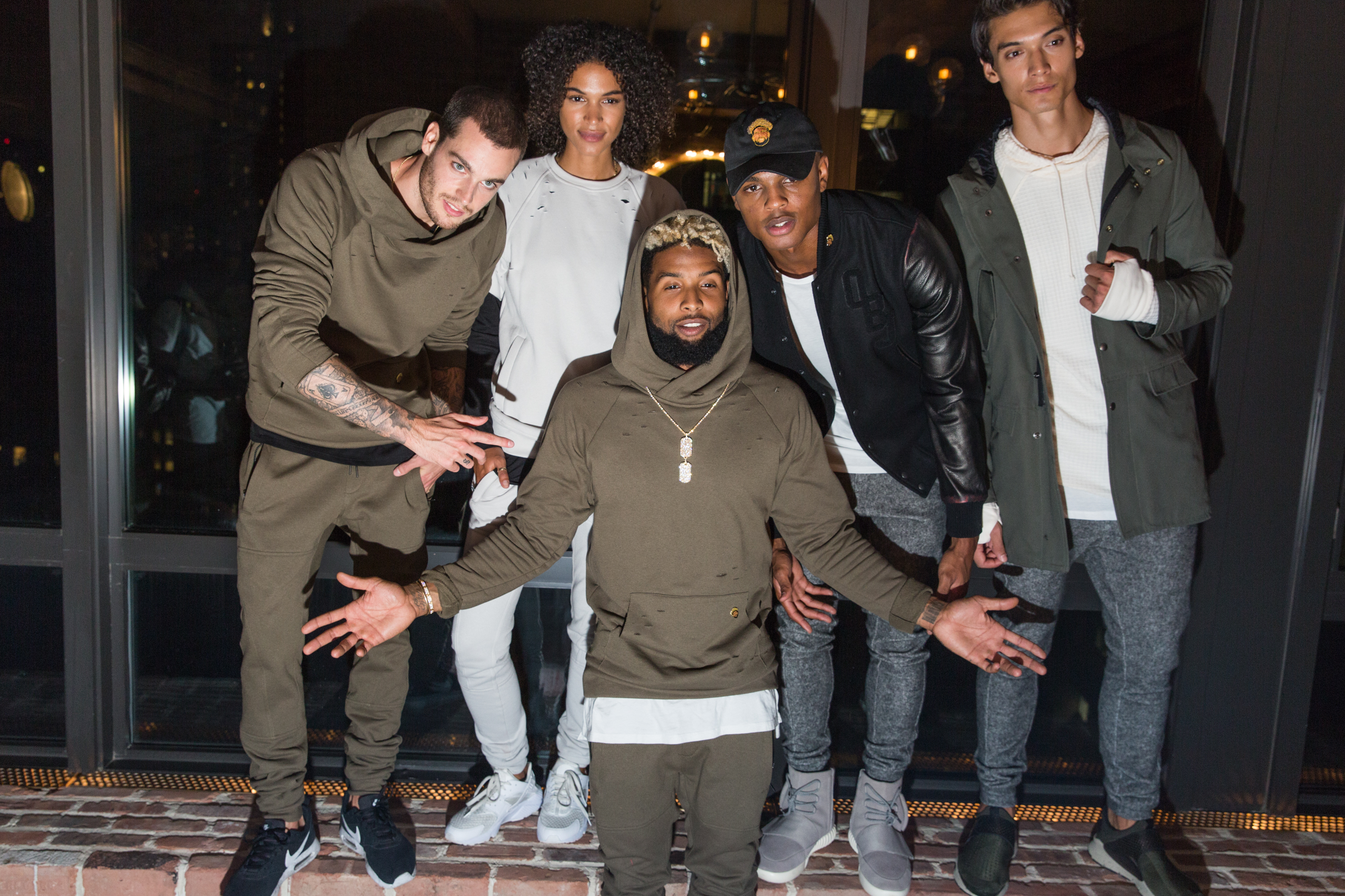 STYLE: Odell Beckham Jr. Debuts His First-Ever Fashion Collection 13 x Twenty