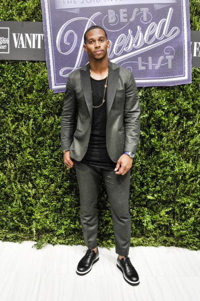 STYLE: Victor Cruz Celebrates Vanity Fair's 2016 International Best Dressed List