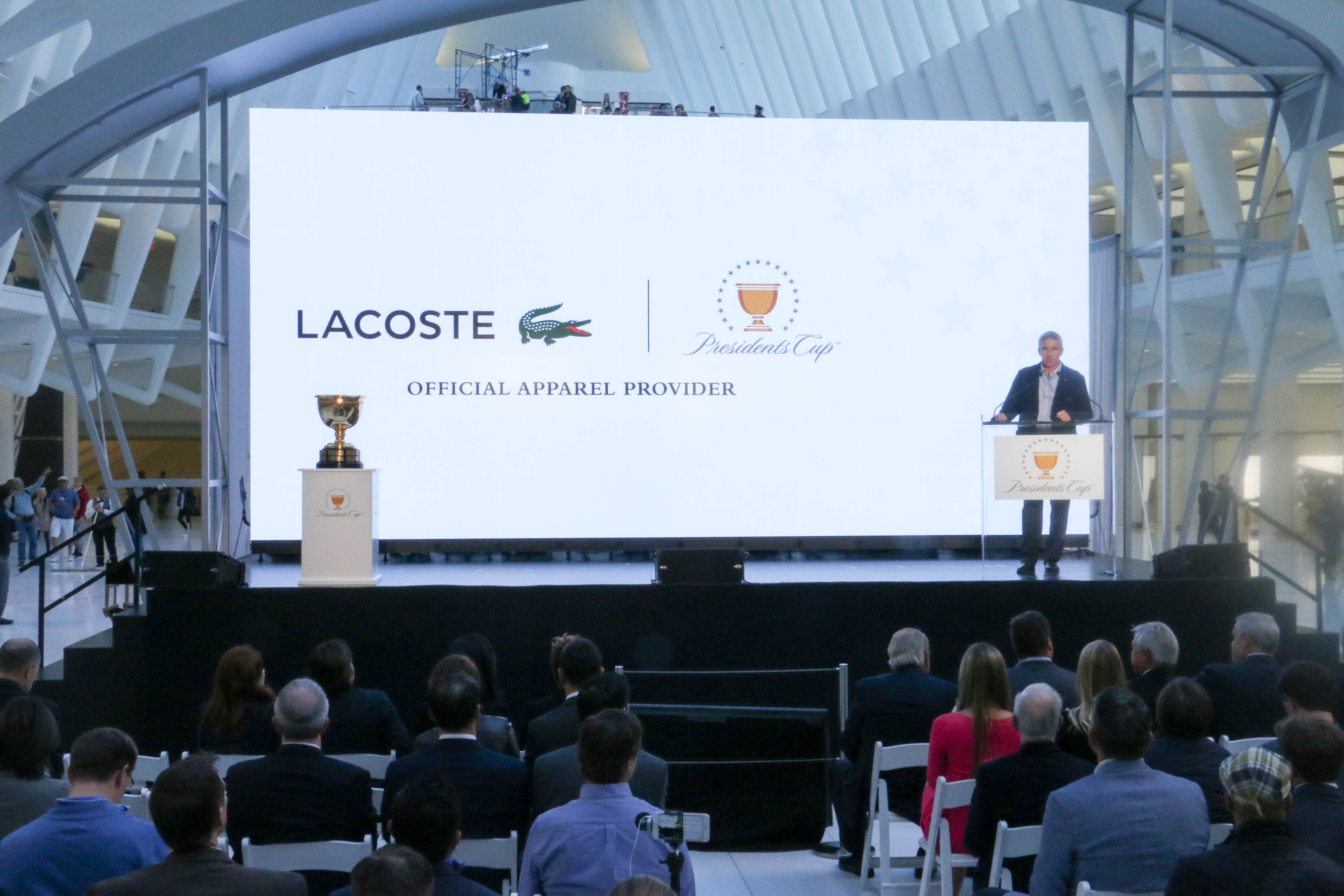 Lacoste Named OFFICIAL APPAREL PROVIDER OF THE PGA TOUR's PRESIDENTS CUP