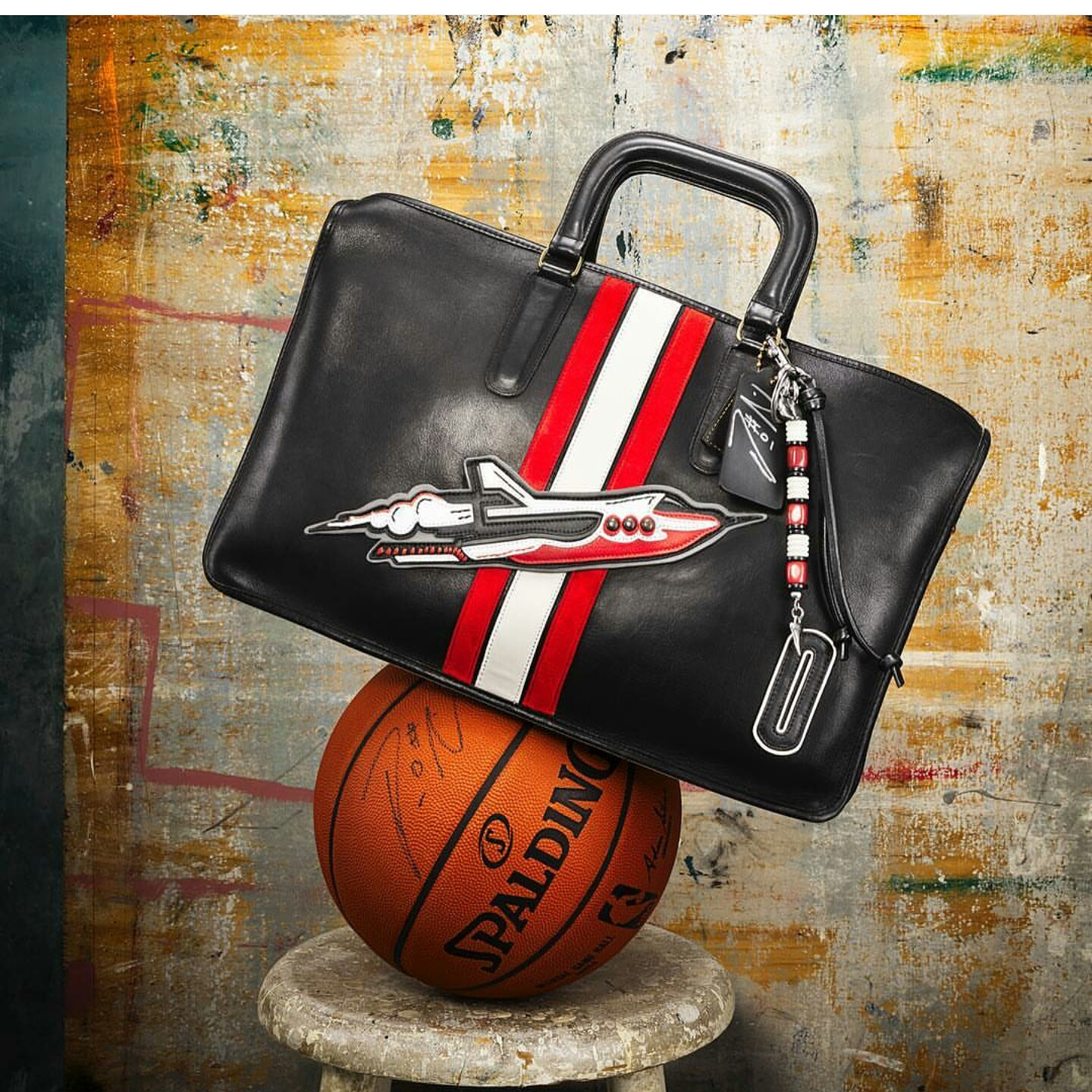 NBA Star Damian Lillard Collabs With Coach Brand On Customized Bag