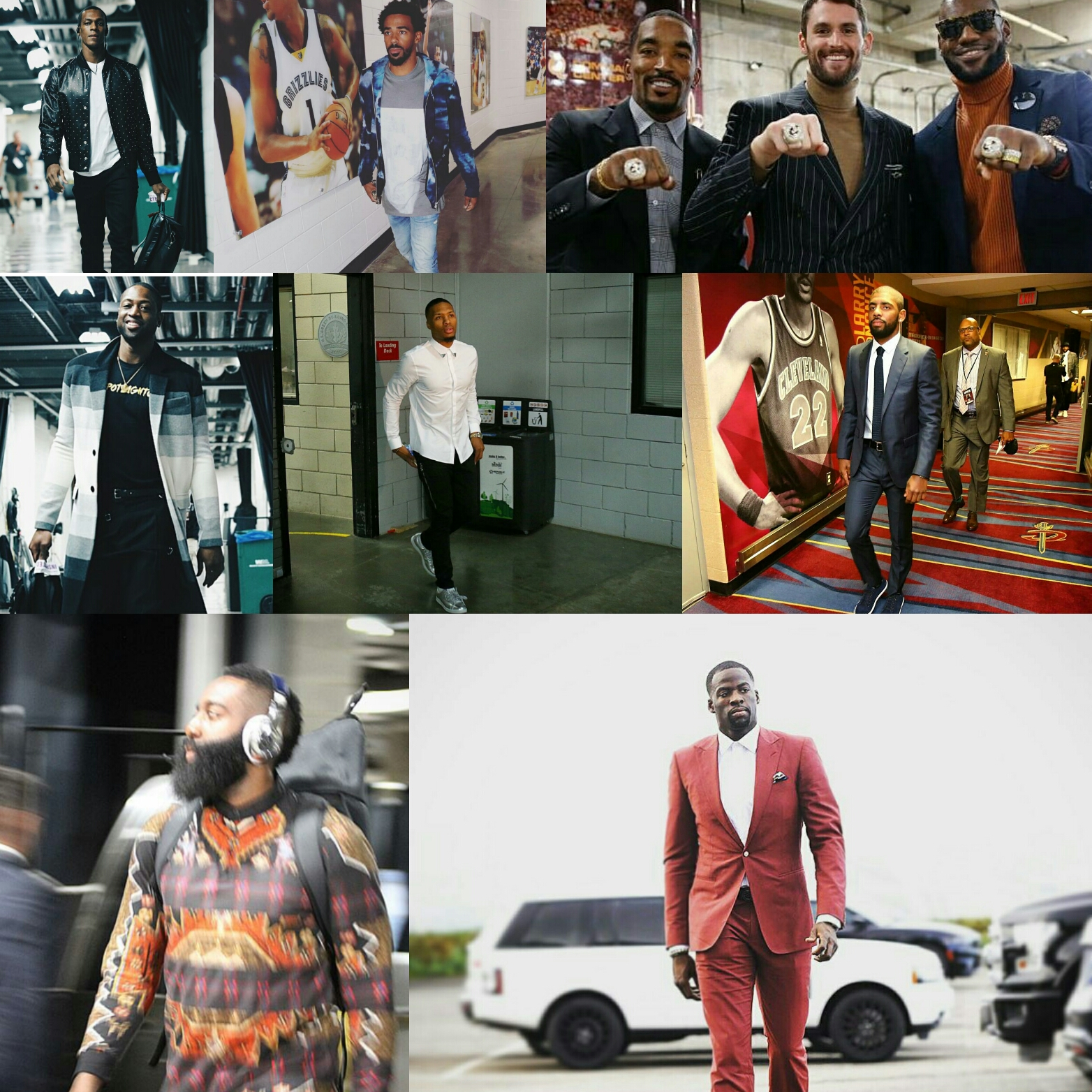 Best Dressed Athletes From NBA Season Opening Week: Fashion Tips For Men