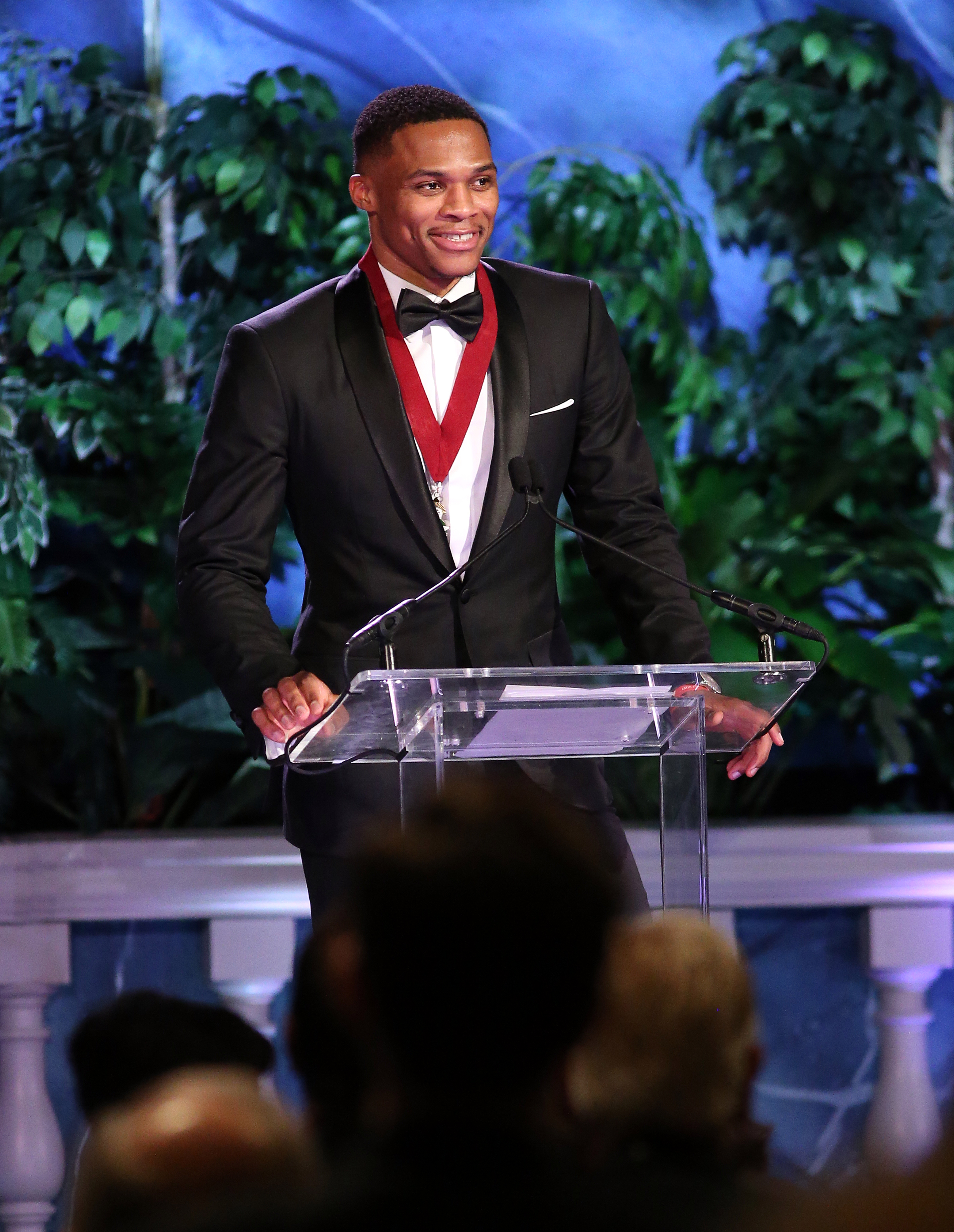 Michael Jordan Inducts Russell Westbrook Into 89th Annual Oklahoma Hall Of Fame