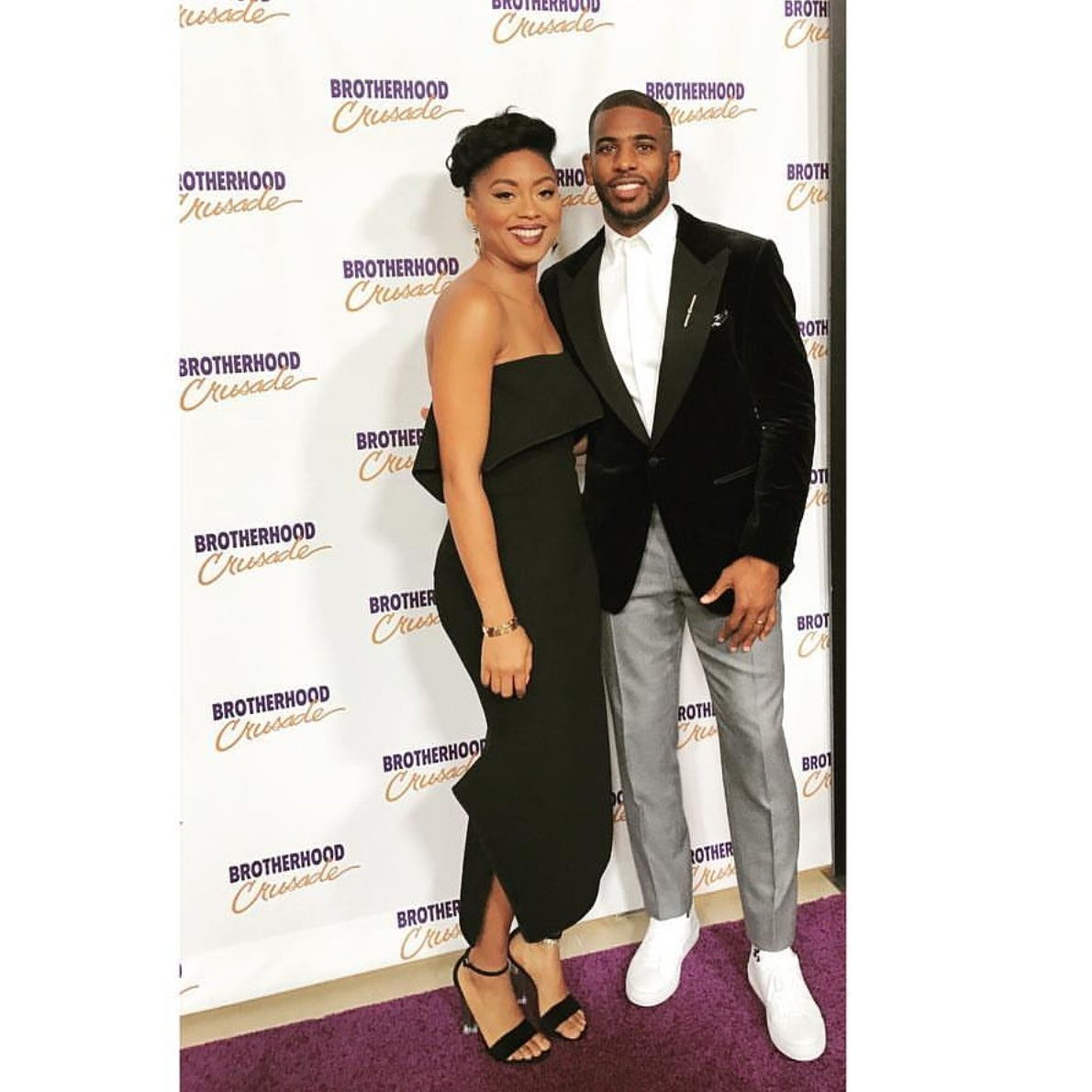 Suits For Men: Chris Paul Wears Tom Ford To Brotherhood Crusade Event