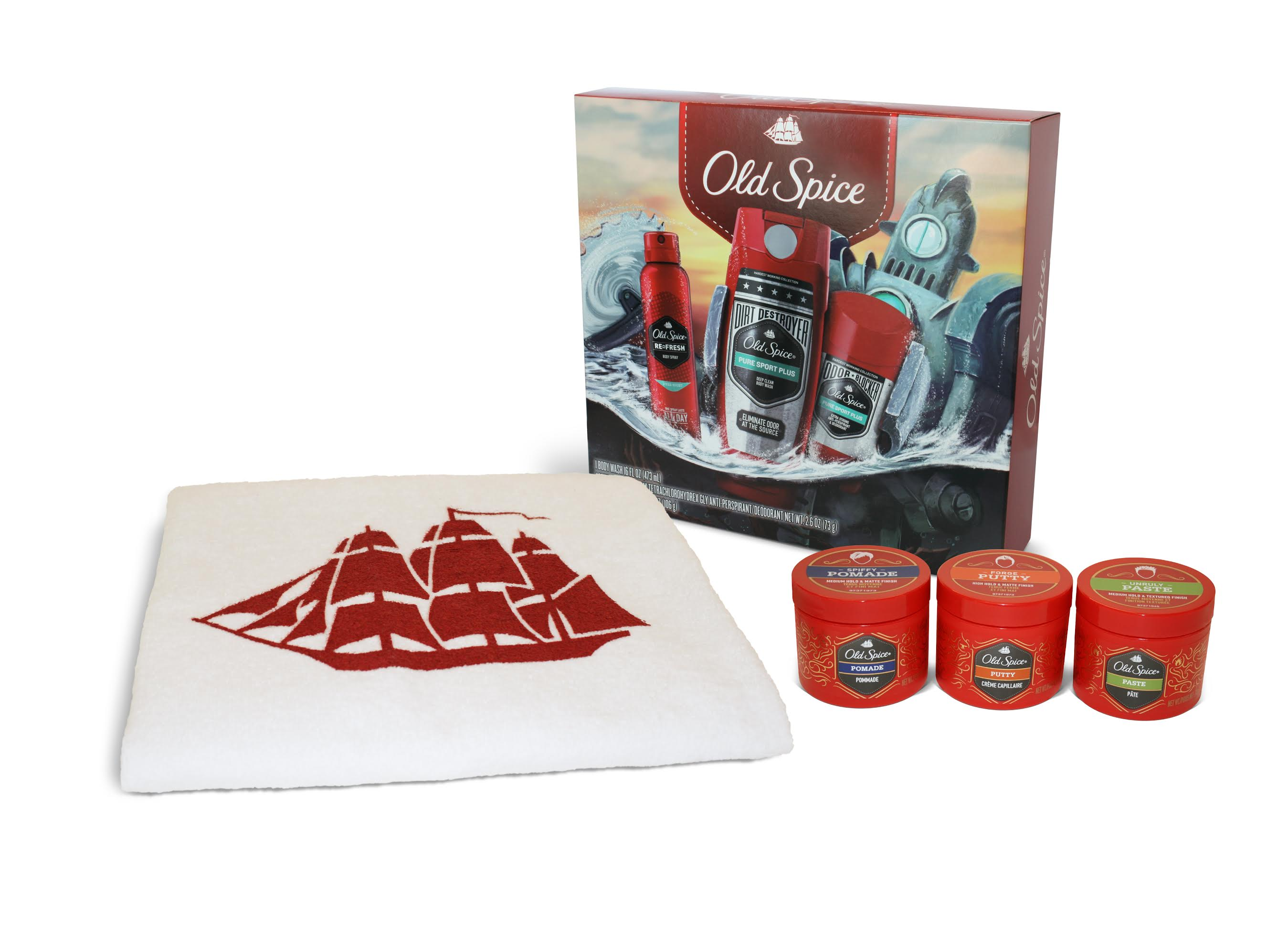 Old Spice Holiday Gift Set GIVEAWAY