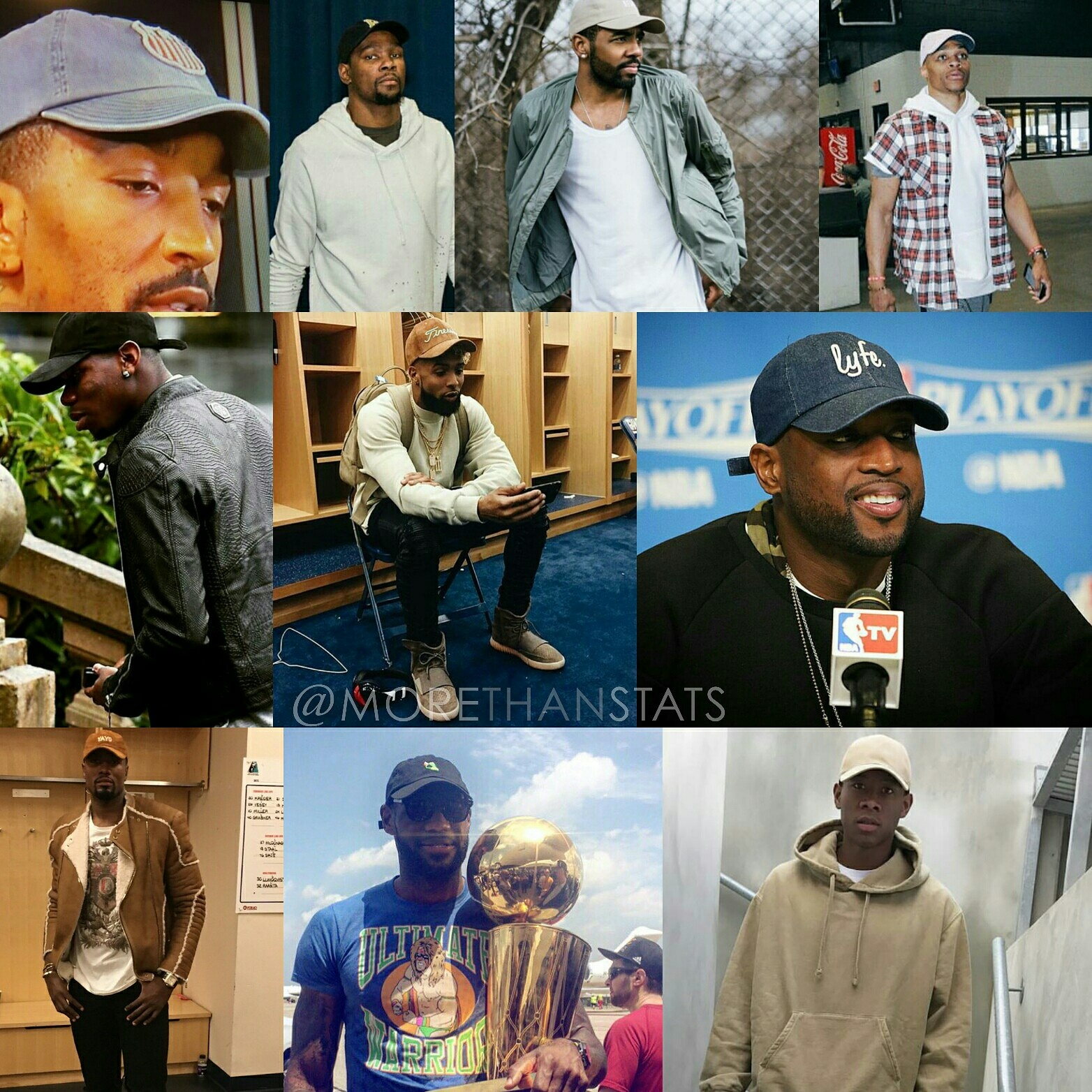Biggest Athlete Fashion Trends Of 2016: Dad Hats