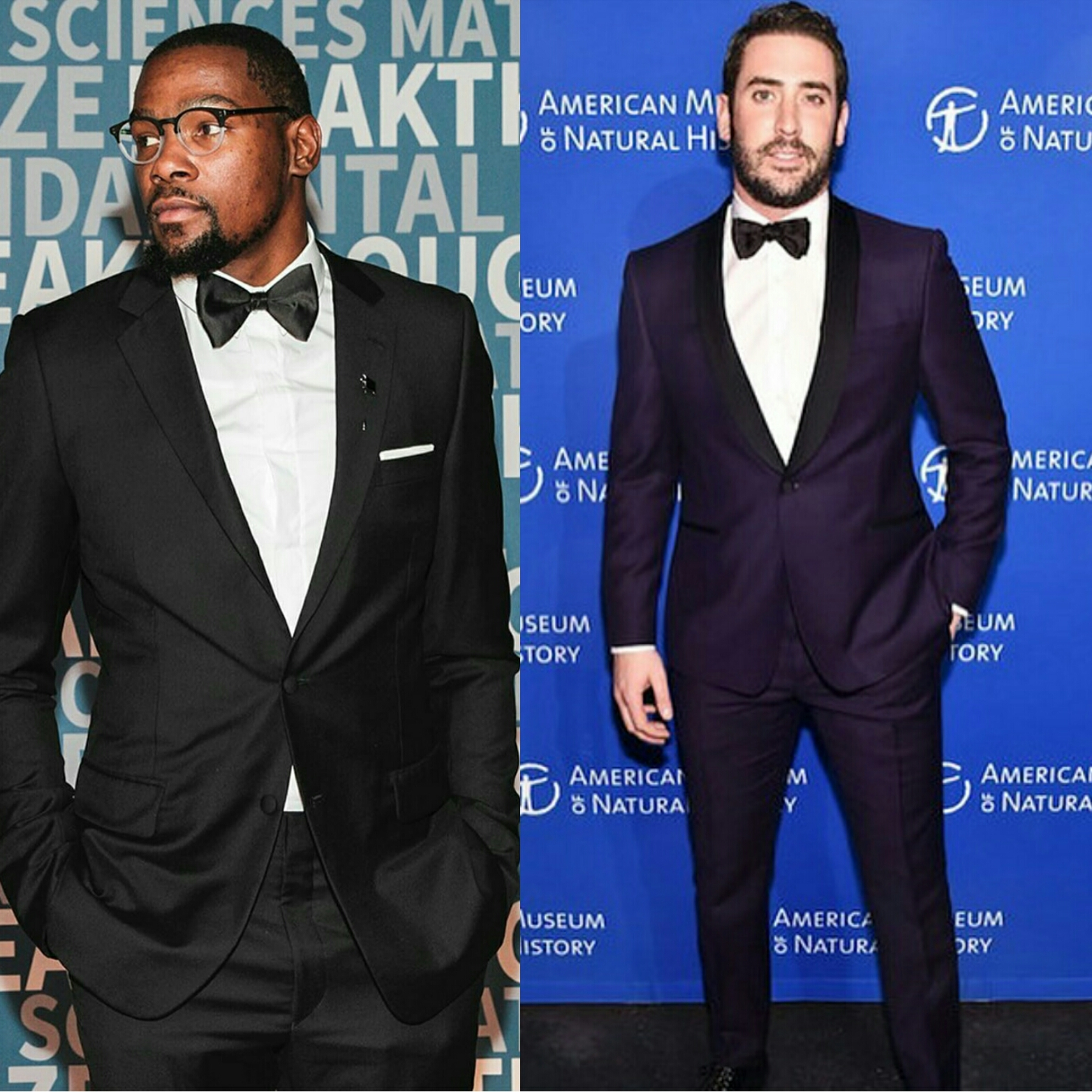 STYLE: Kevin Durant & Matt Harvey Dress in Tuxedos For Recent Galas