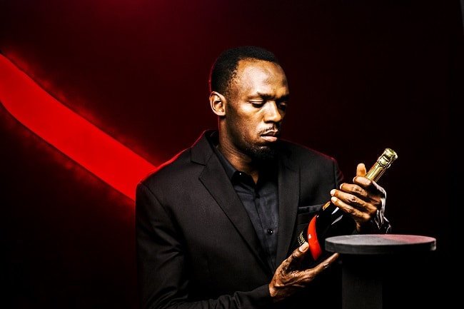 Usain Bolt Wants Us To Celebrate Our Victories With G.H. Mumm Champange