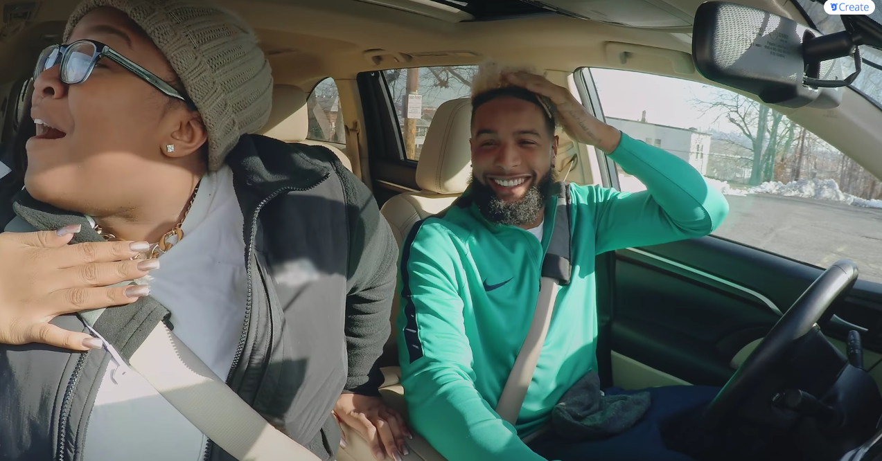 WATCH: Odell Beckham Jr. Makes A Good Lyft Driver
