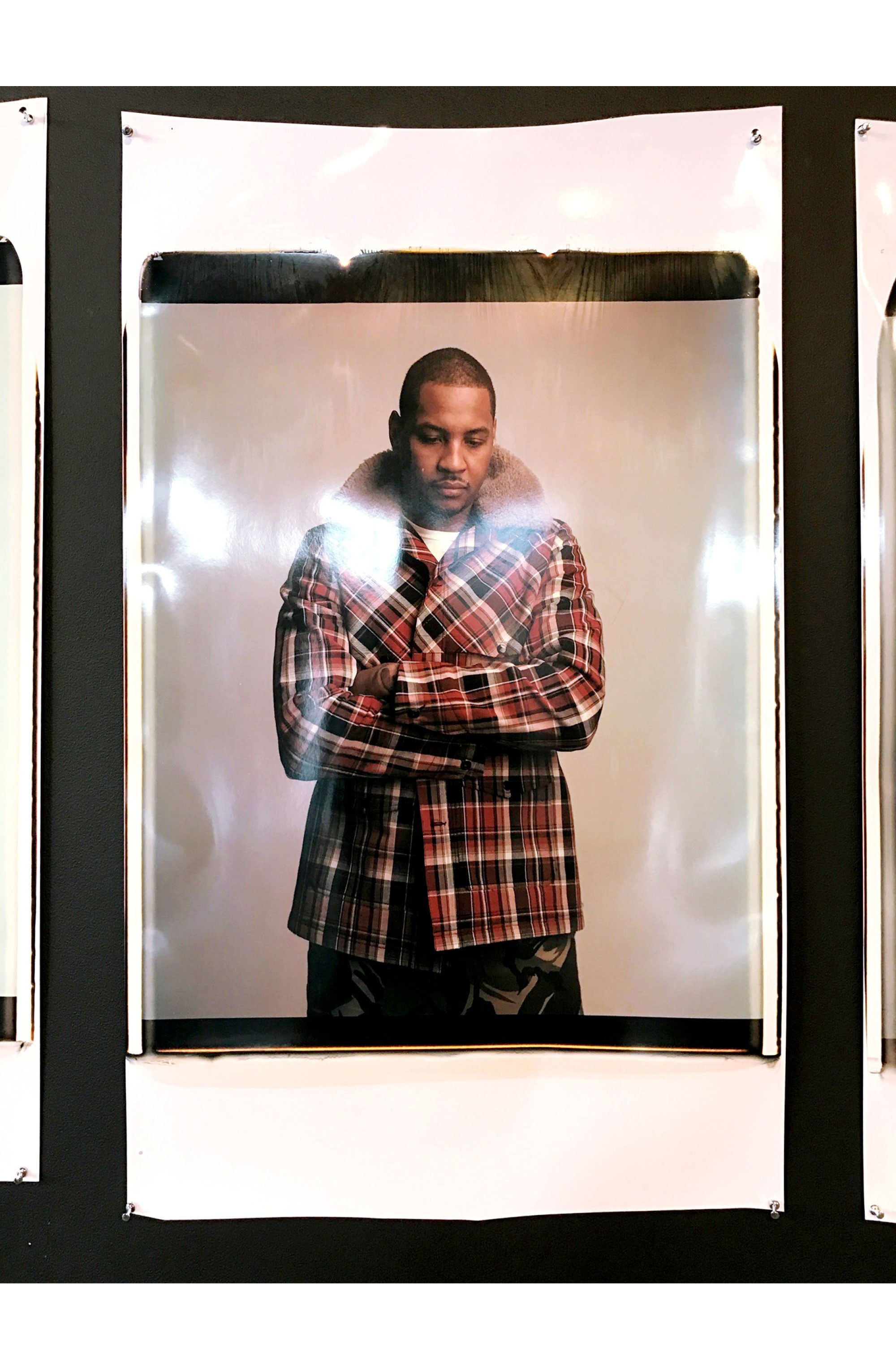 Carmelo Anthony Models For Rag & Bone FW'17 New York Fashion Week Presentation