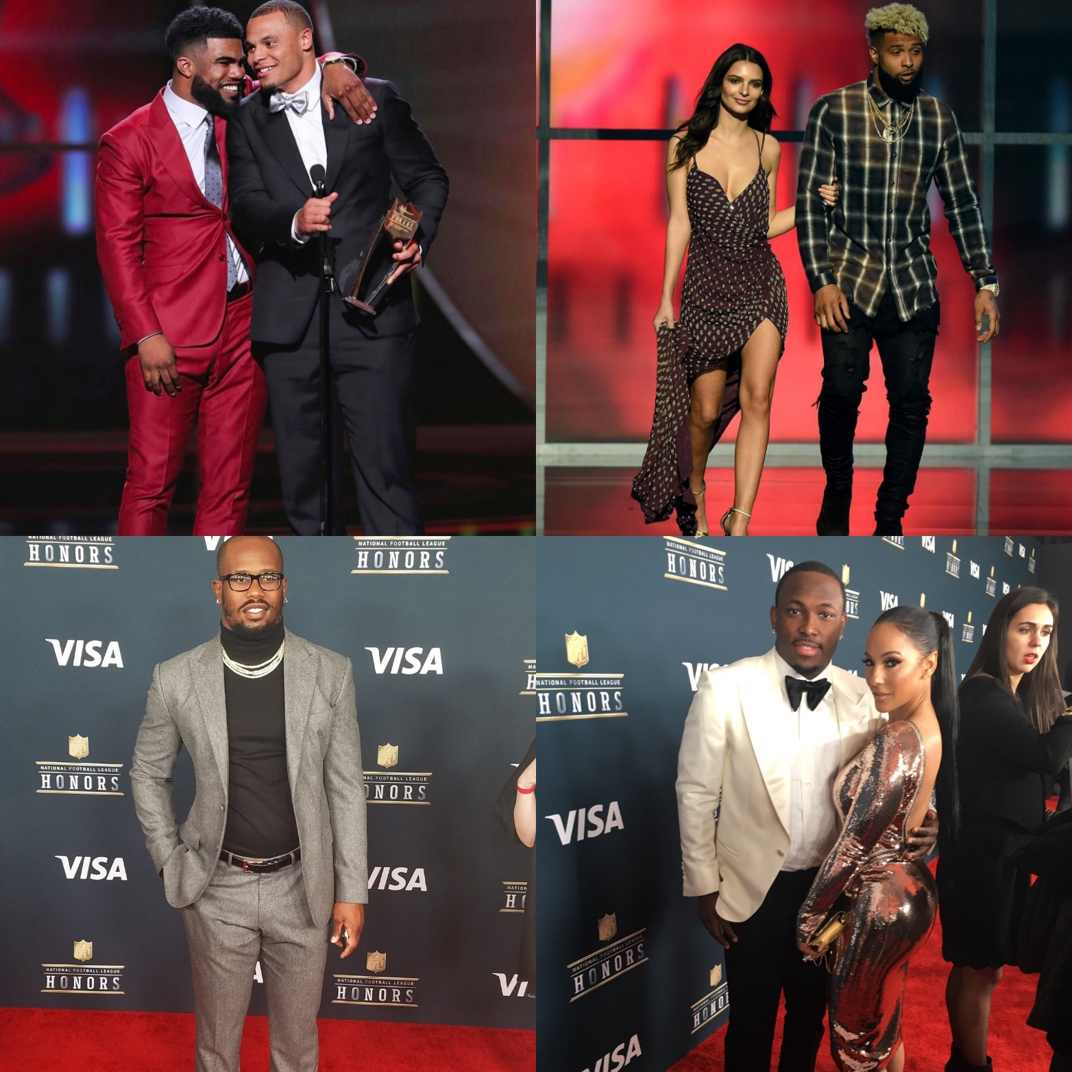 2017 NFL Honors' Best-Dressed Athletes: Odell Beckham Jr., Von Miller, And More