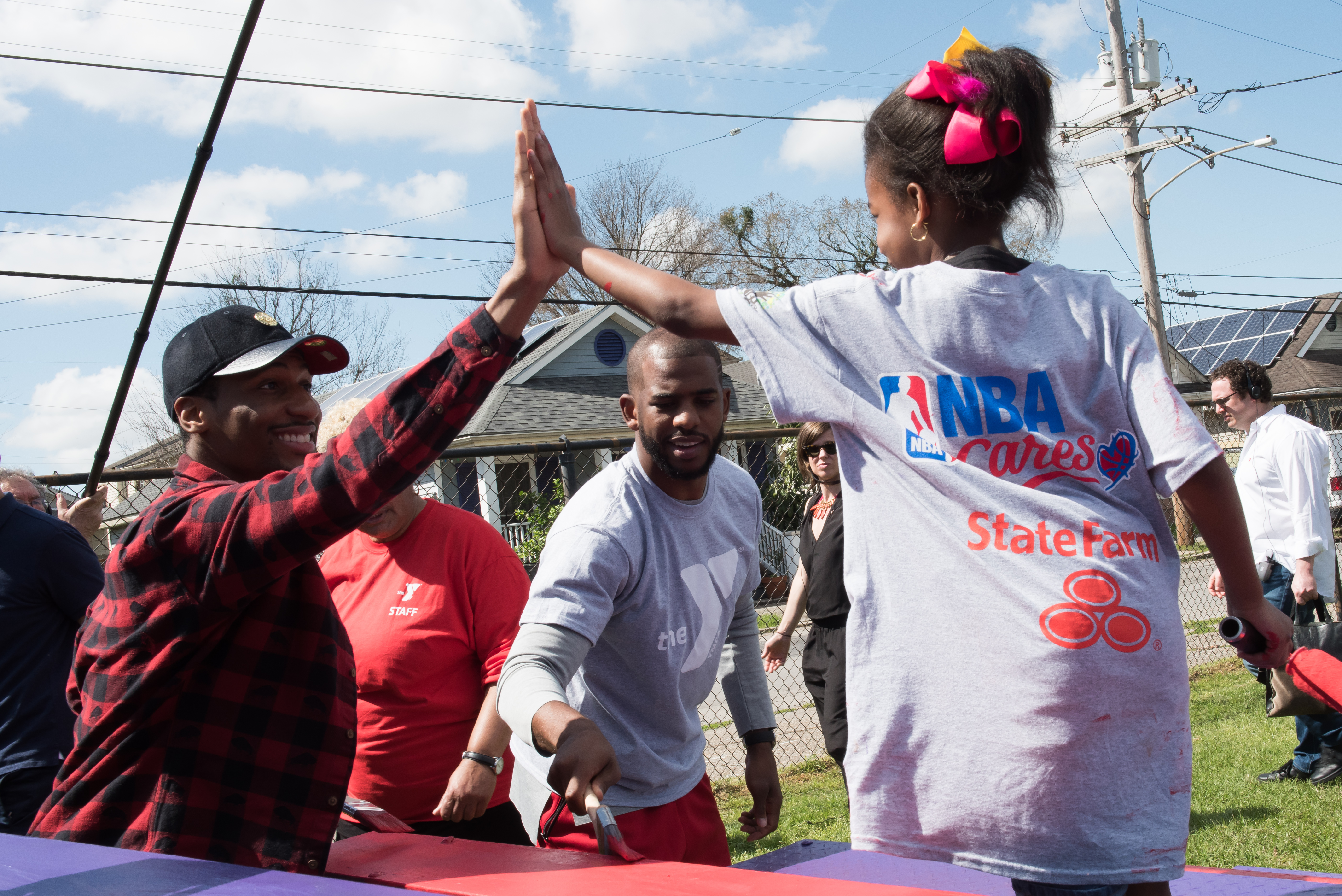 Chris Paul, State Farm & Co. Give Back In New Orleans Over All-Star Weekend