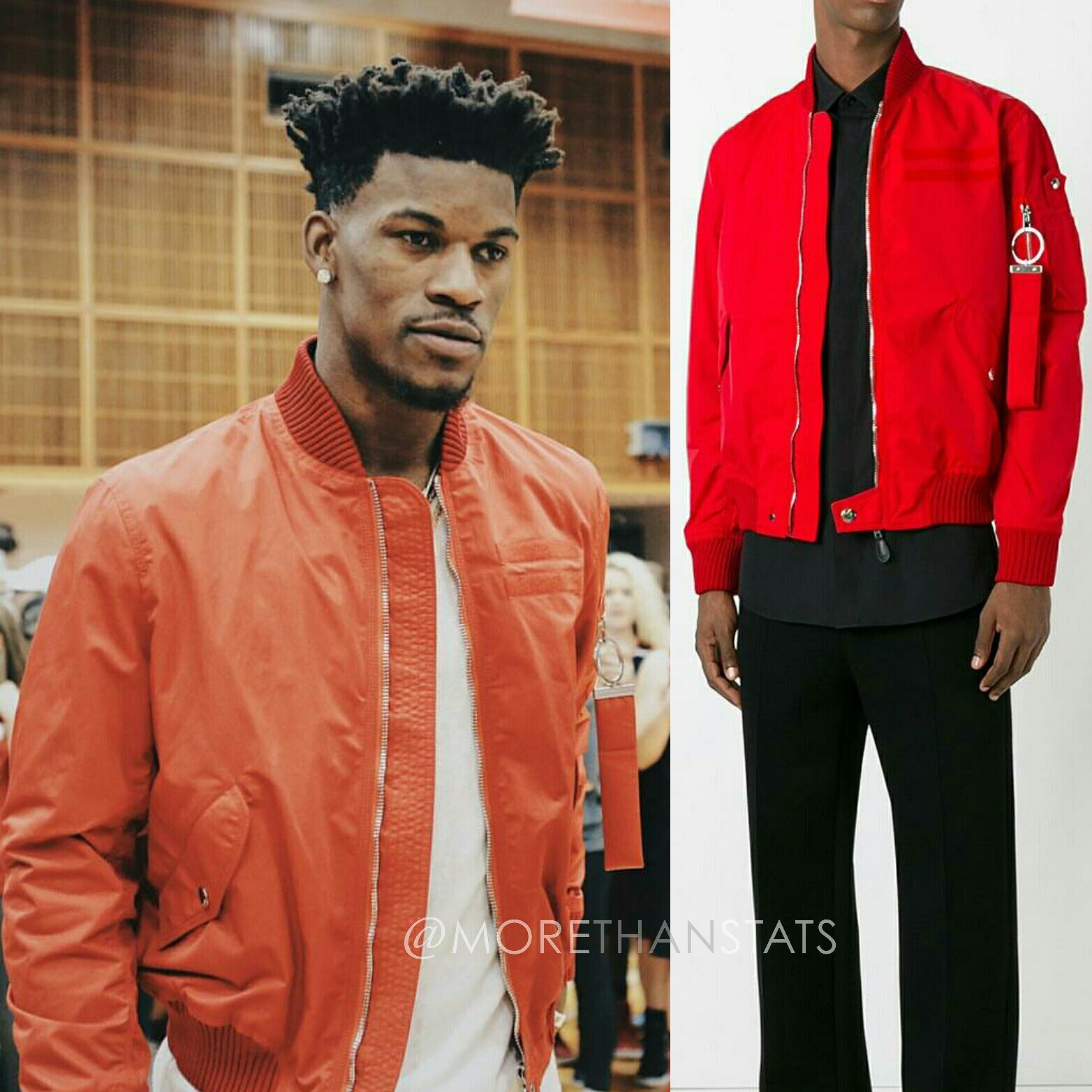 Jimmy Butler's Givenchy Nylon Men's Fashion Jacket