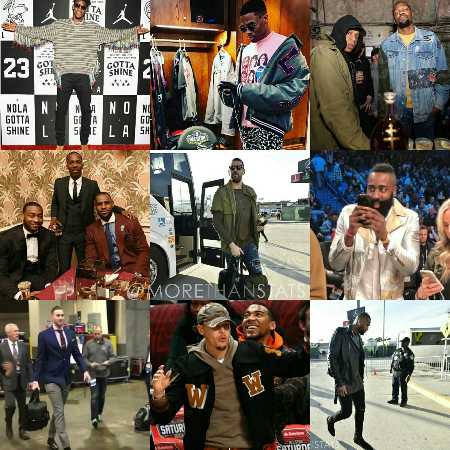 All-Star Weekend 2017's Biggest NBA Fashion Statements