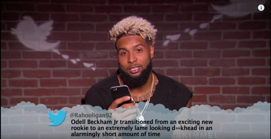 "NFL ""Mean Tweets,"" Players react to Outrageous  Fan Comments"