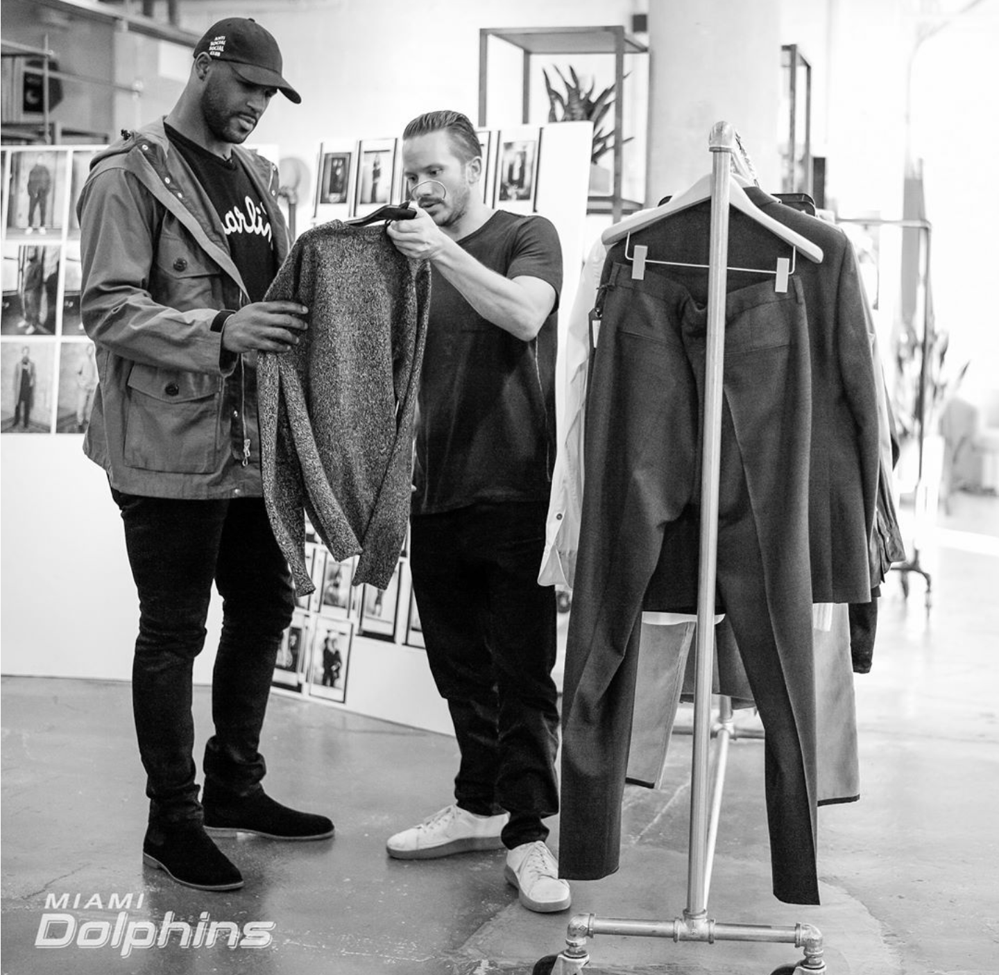 NFL Andre Branch Interns For Rag & Bone Expresses His Passion For Fashion