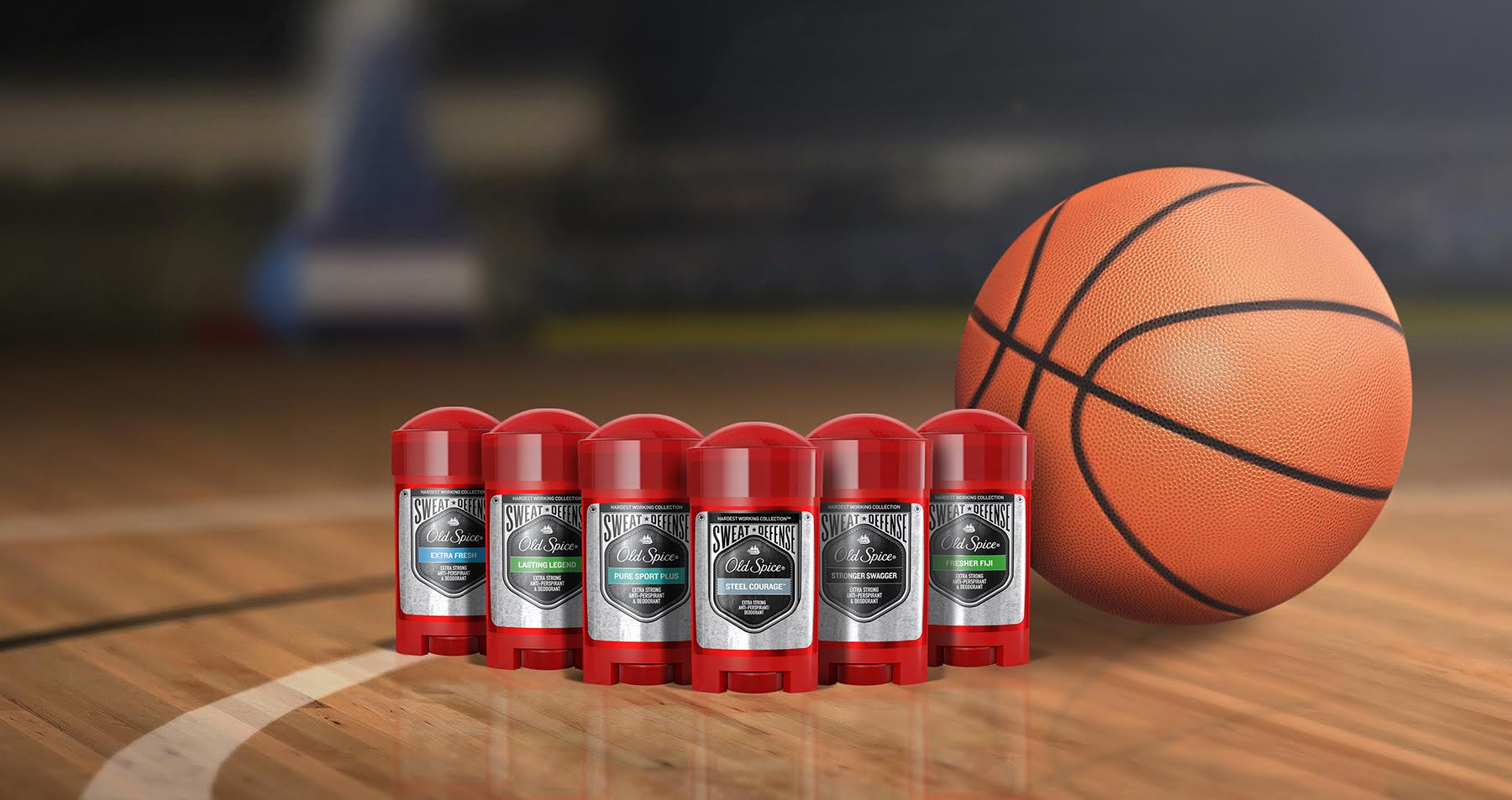 Ode to Spring Sports: Inspired By Old Spice Sweat Defense/Hardest Working Collection
