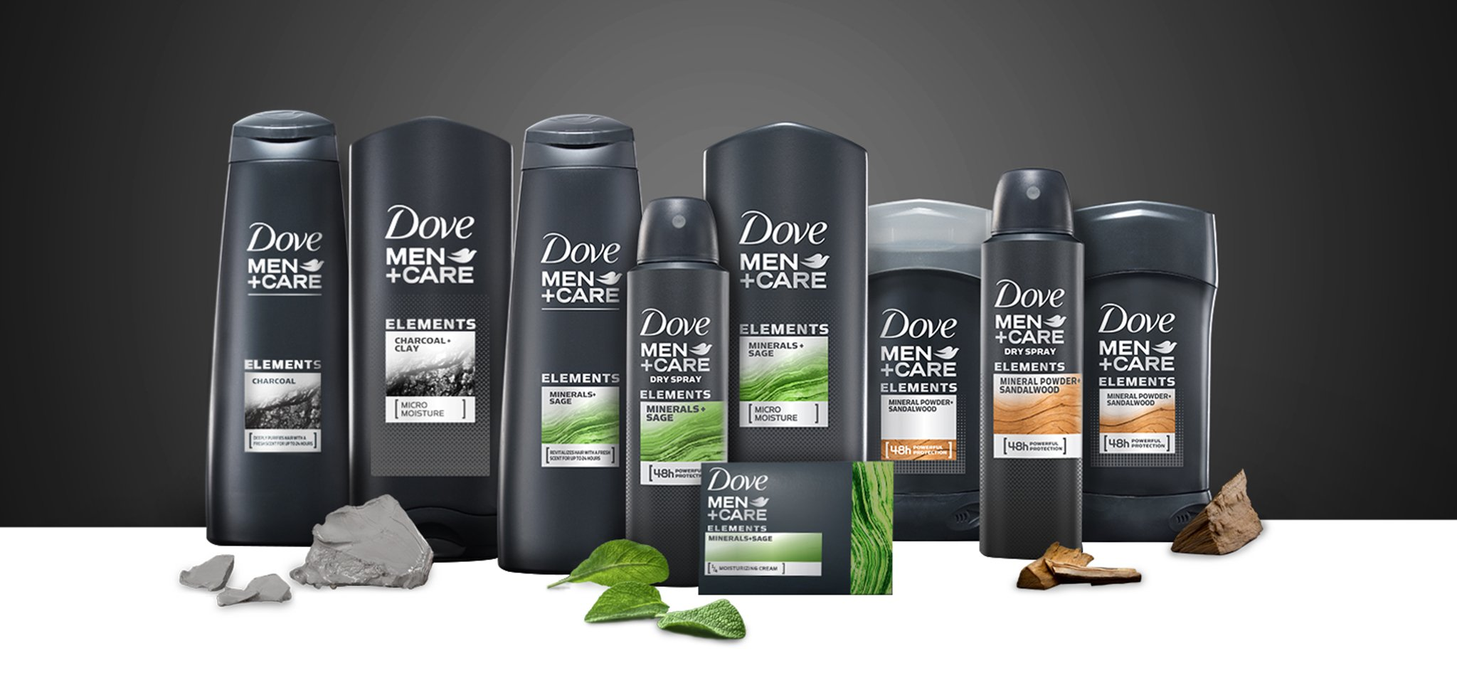 Dove Men+Care Introduces New Elements Range Inspired By Nature