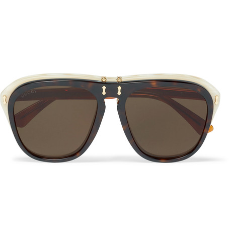 conors 760 gucci flip lens glasses are italian made frames a throwback to 70s styles the flip lens design gives you two options either opticals or