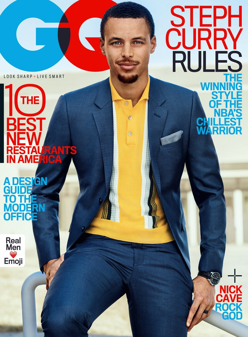Stephen Curry For GQ Magazine May 2017