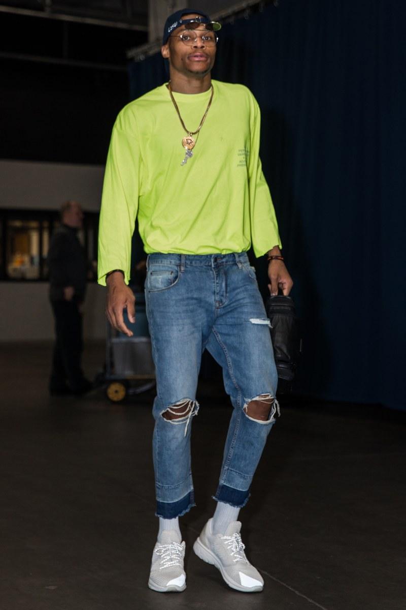 Russell Westbrook Fashion Lookbook: 2016-2017 NBA Season