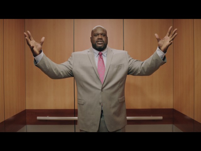 "SHAQ Explains Why The NBA Playoffs Are ""Larger Than Life"" In New Spot"
