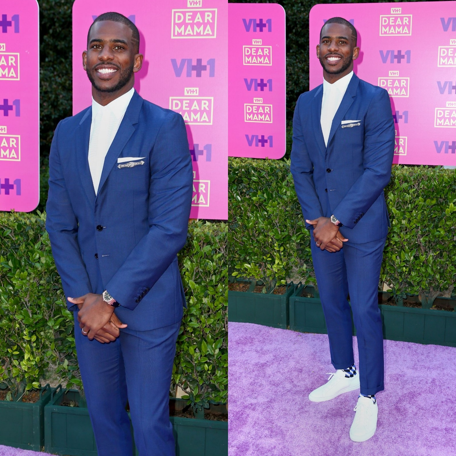 Chris Paul's VH1 Dear Mama Paul Smith Suit