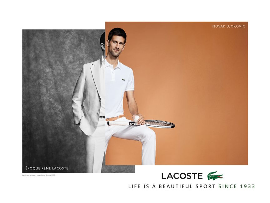 Fashion brand by french tennis player 75