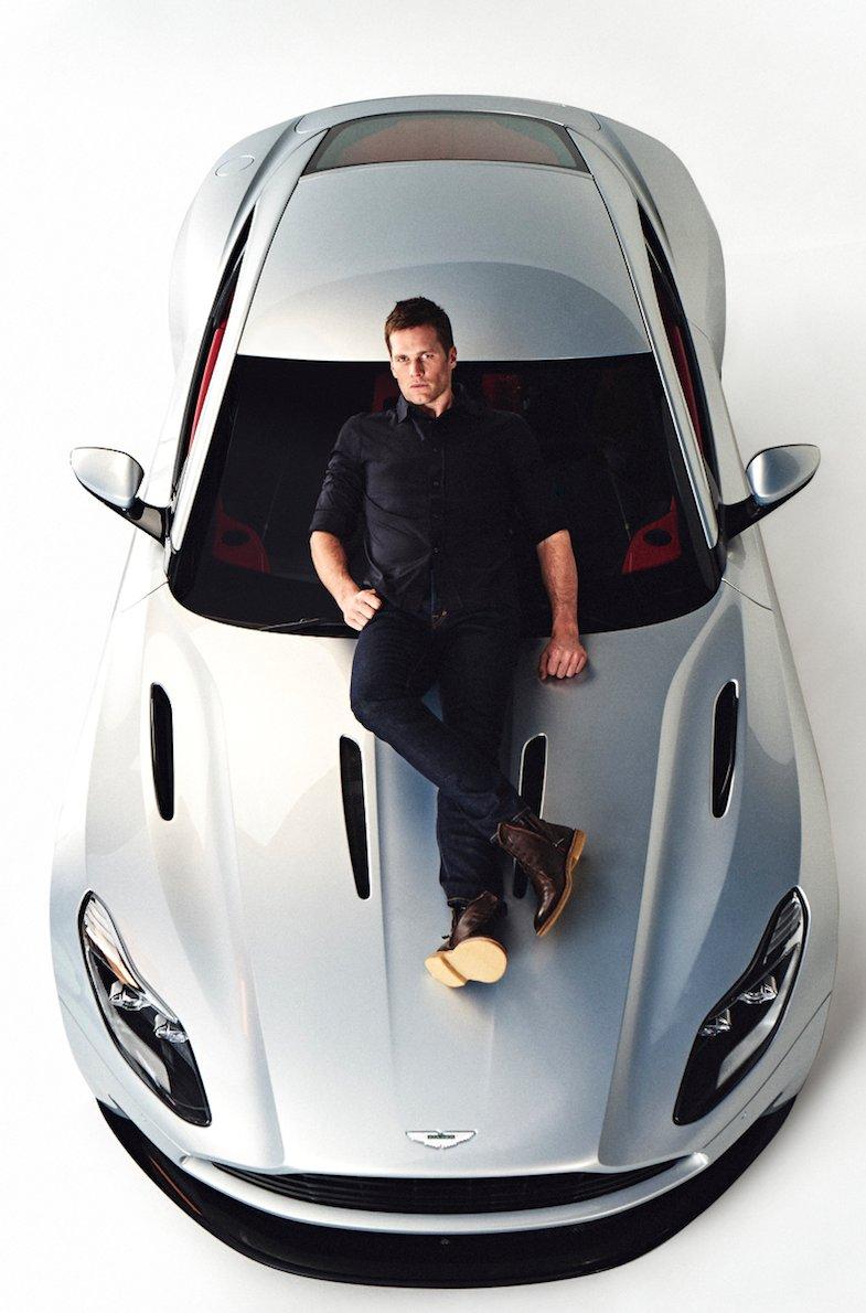 Tom Brady Is Aston Martin's Newest Car Designer