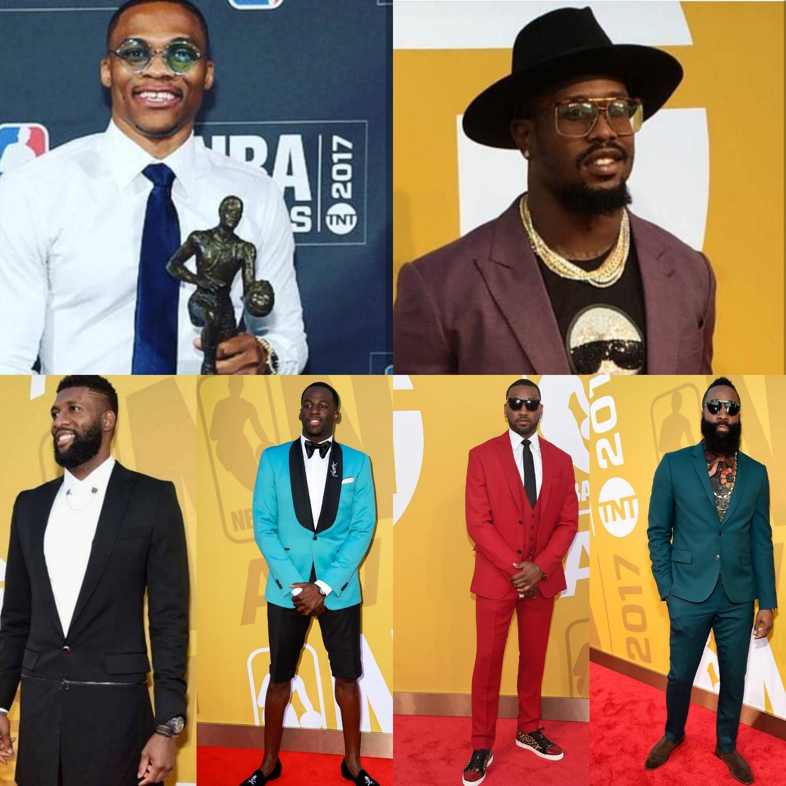 NBA Awards 2017: 6 Best-Dressed Athletes