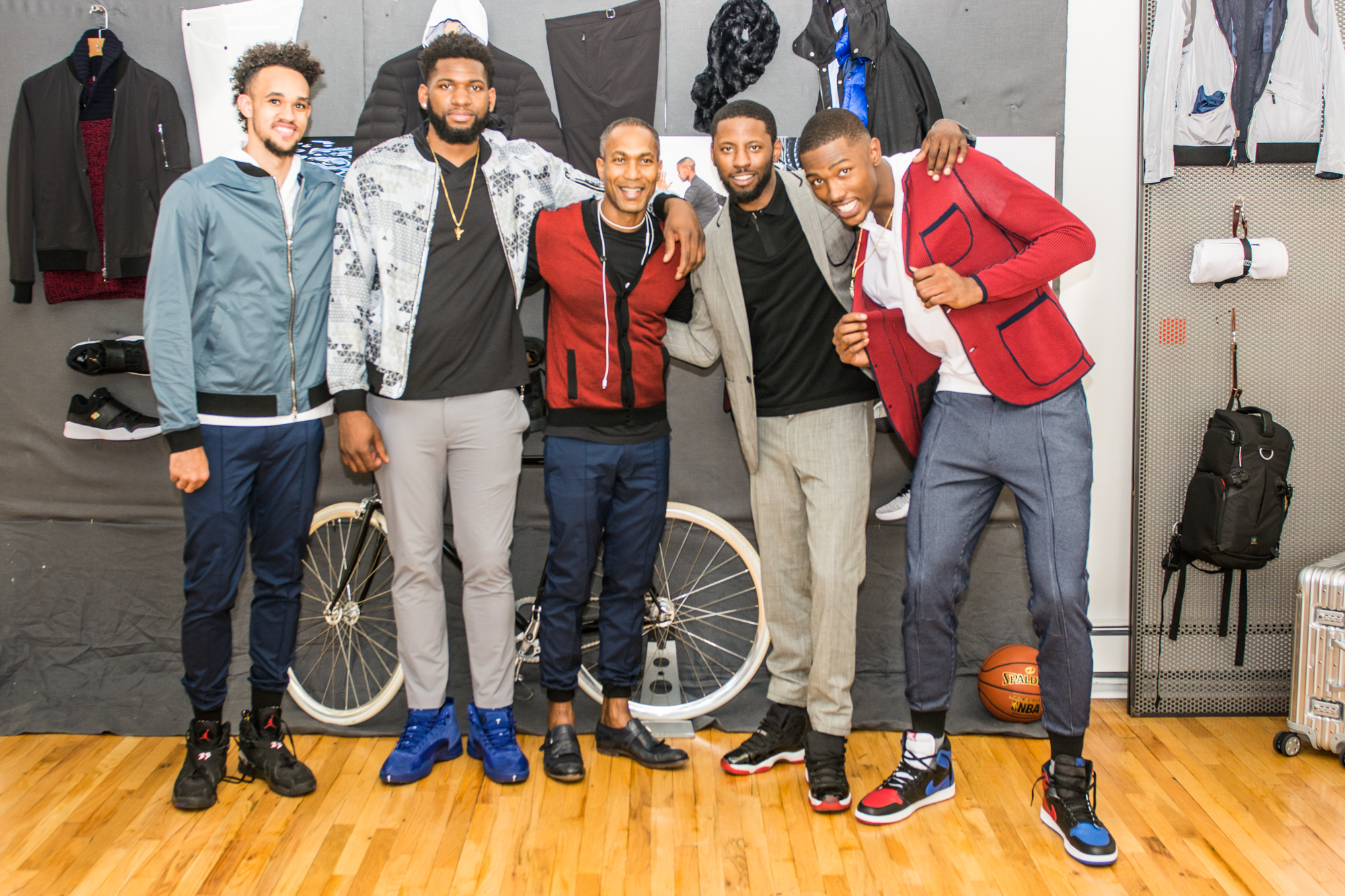 Harry Giles III, Derrick White, Scoochie Smith and Hassan Martin Visit EFM Engineered For Motion Fashion Studio