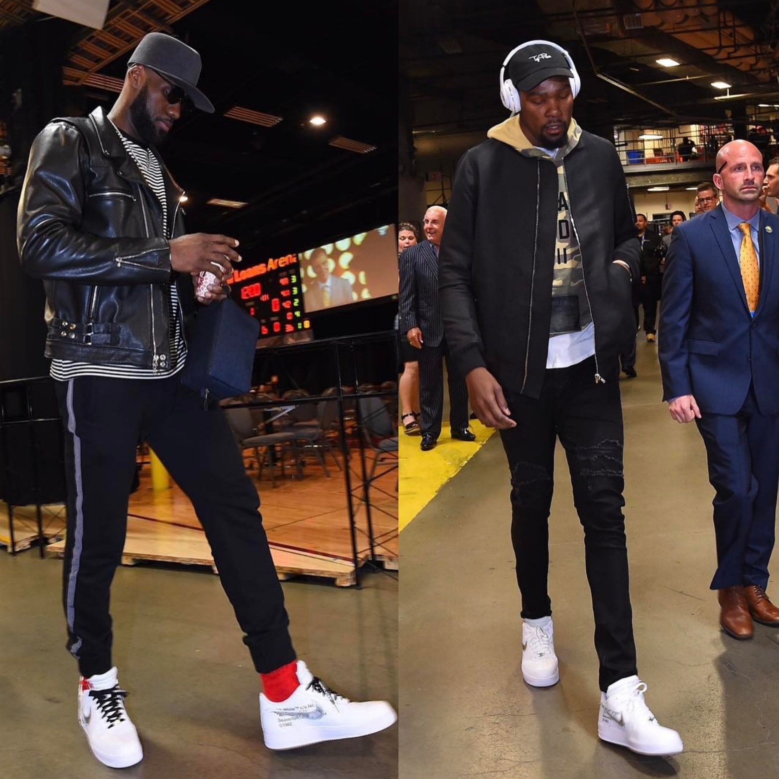 84293915d1755 Cavs Vs Warriors NBA Finals 2017  Biggest Fashion Moments Of The Series