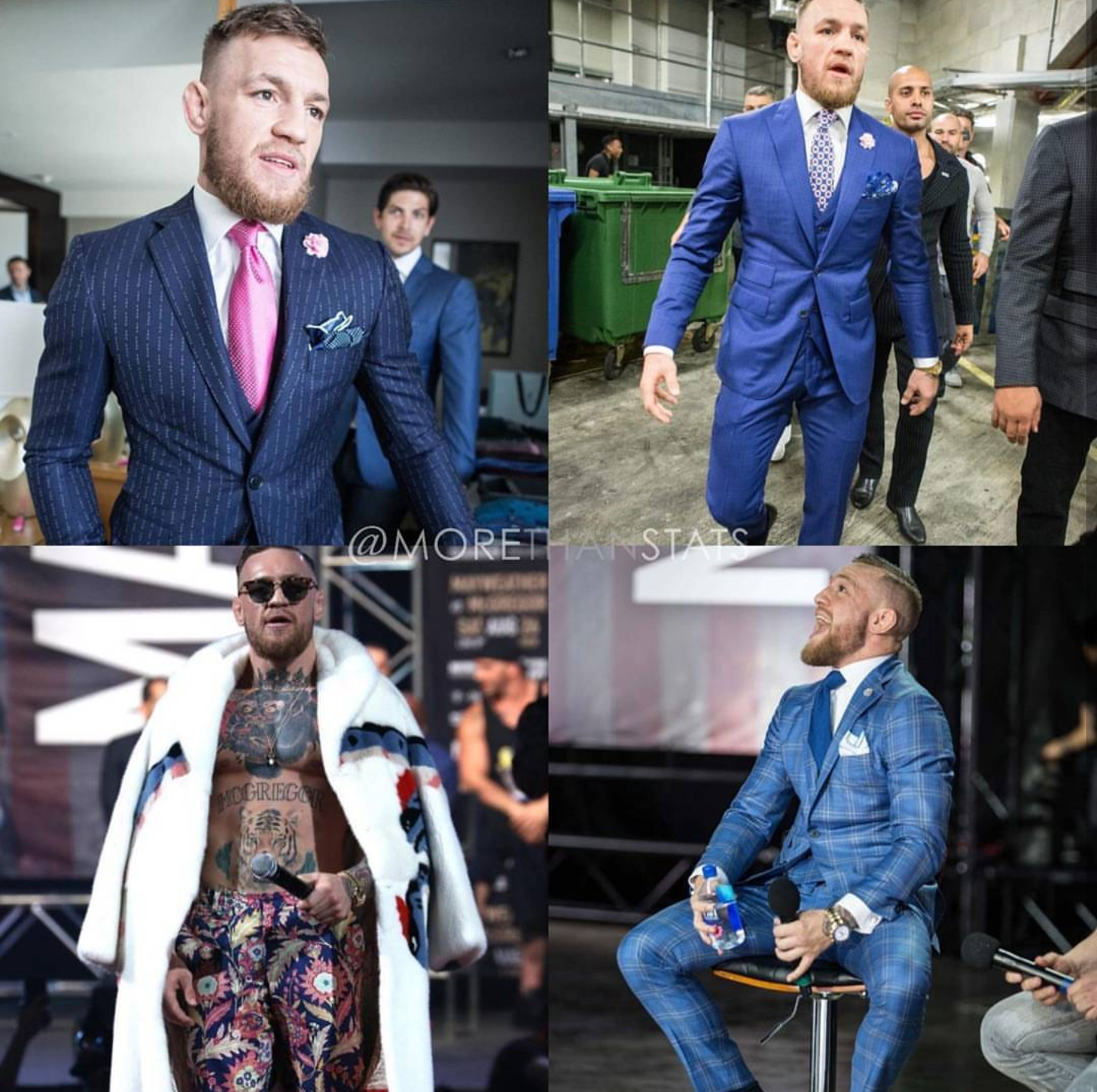 McGregor V. MayWeather: Conor McGregor Dominates Style Battle At Press Conferences.